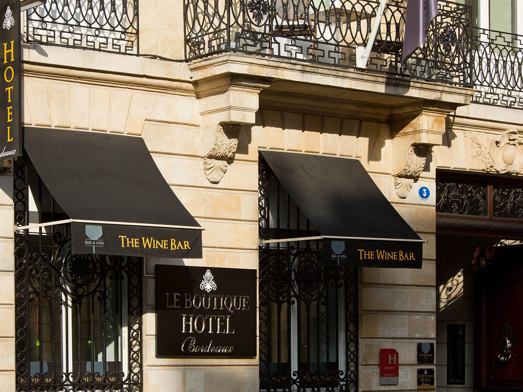 Hotel in bordeaux le boutique hotel bordeaux for Boutique hotel bordeau
