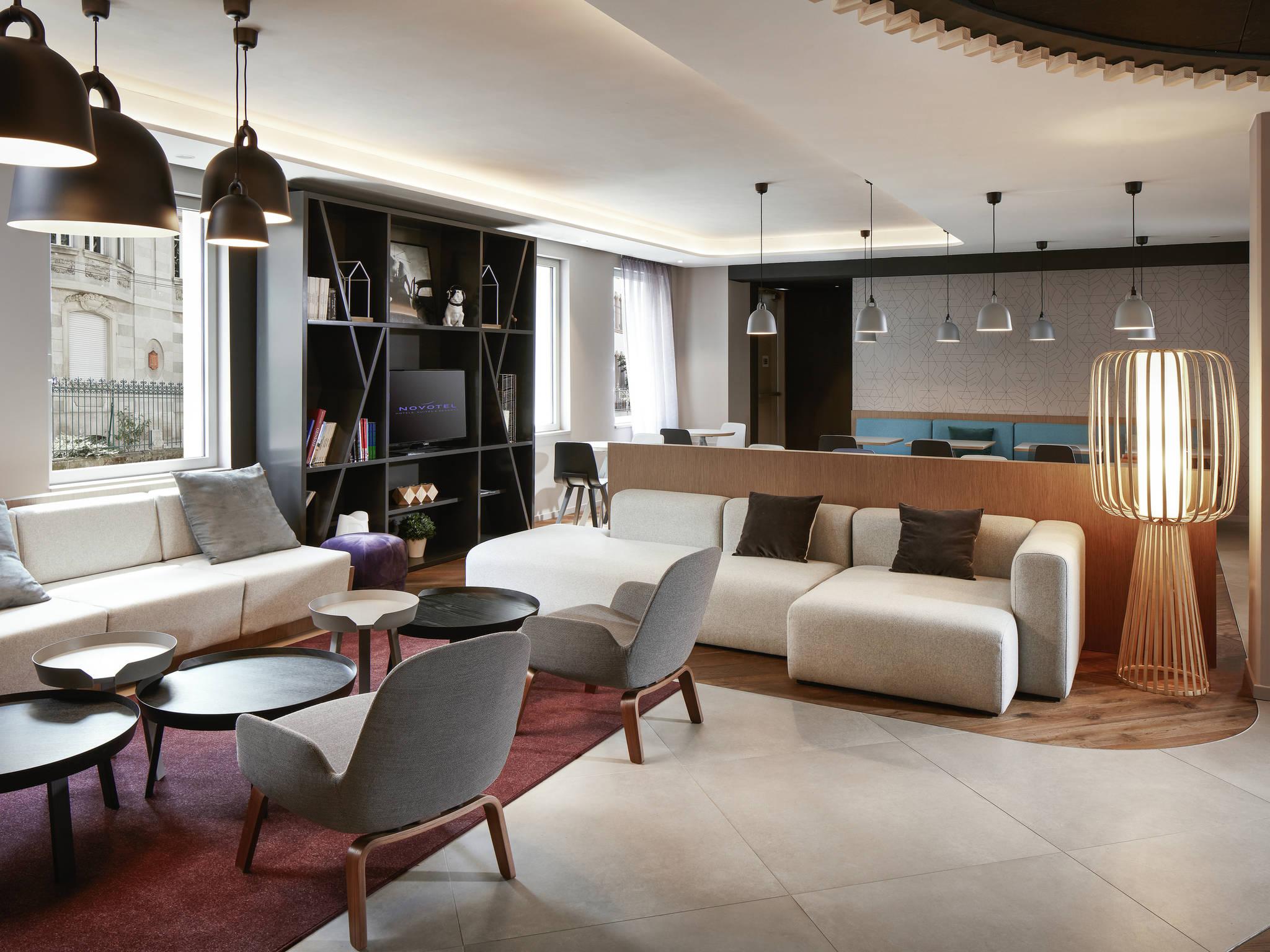 Hotel – Novotel Suites Colmar Centre (inauguração e abril de 2018)