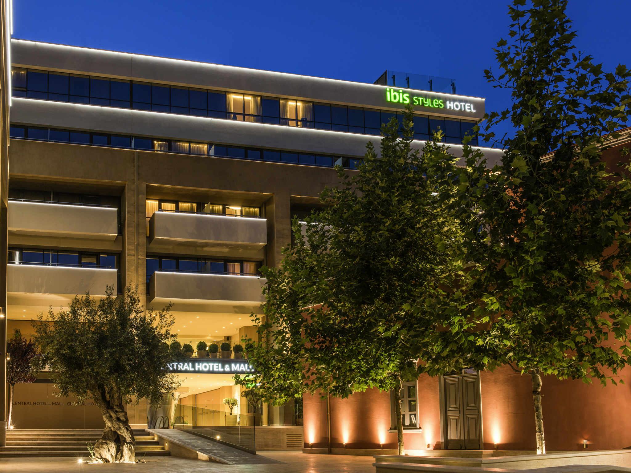 Отель — ibis Styles Heraklion Central