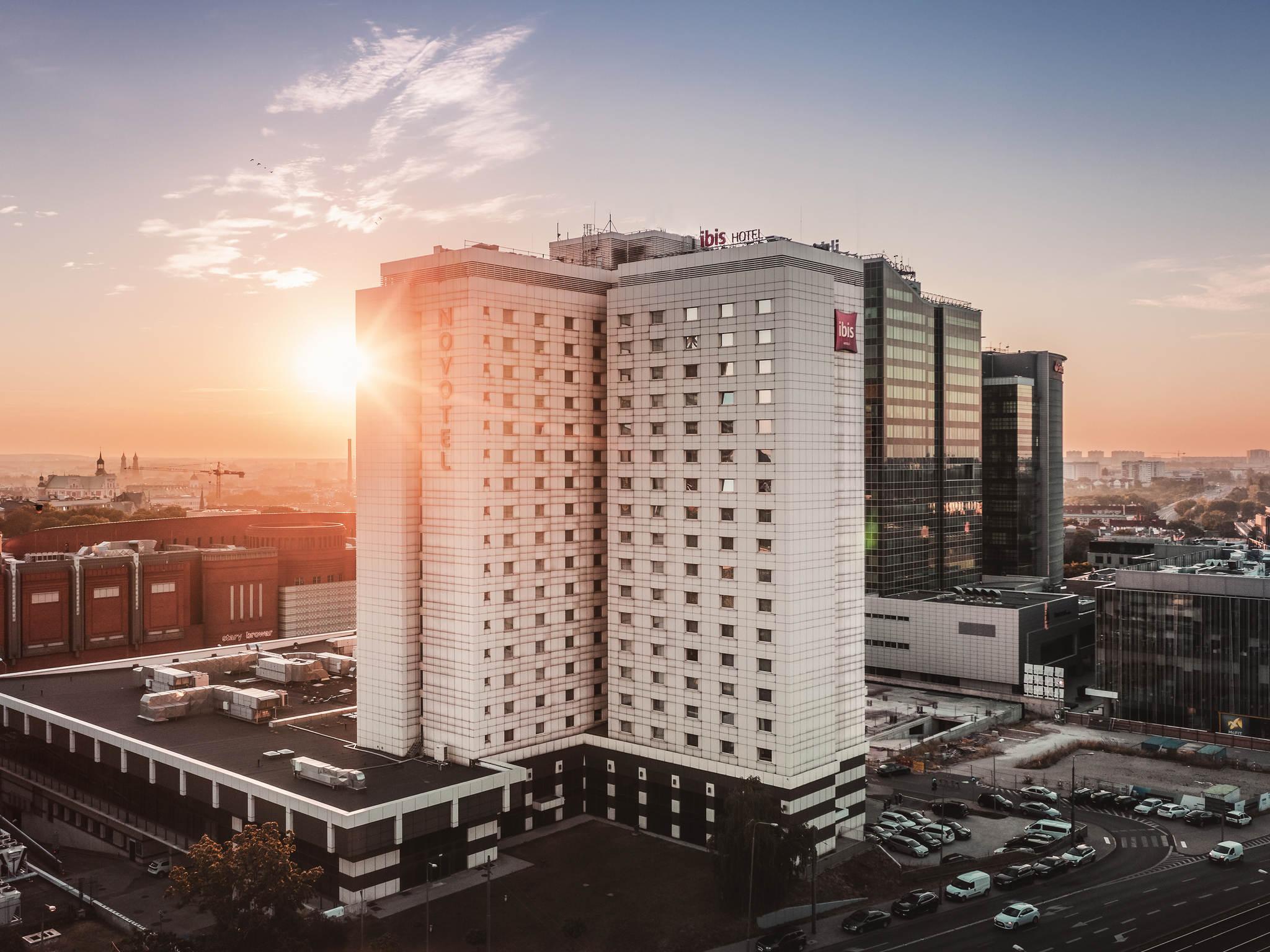Hotel – ibis Poznan Centrum (otwarcie w styczeń 2019)