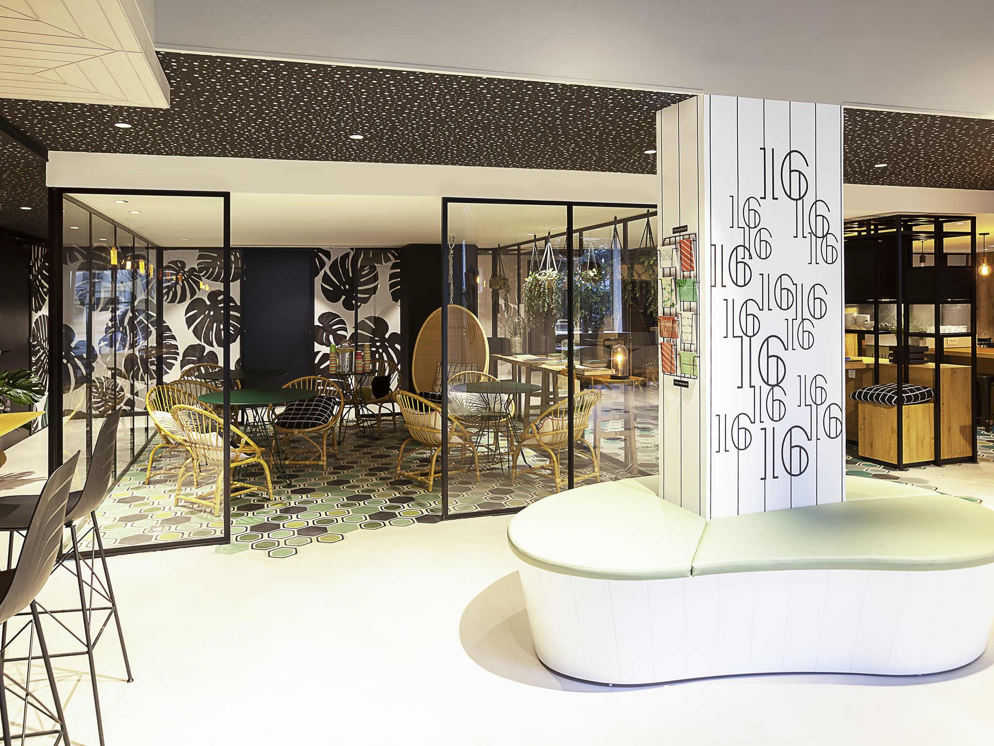 酒店 – 宜必思尚品巴黎 16 区布洛涅酒店(2017 年 11 月开业)