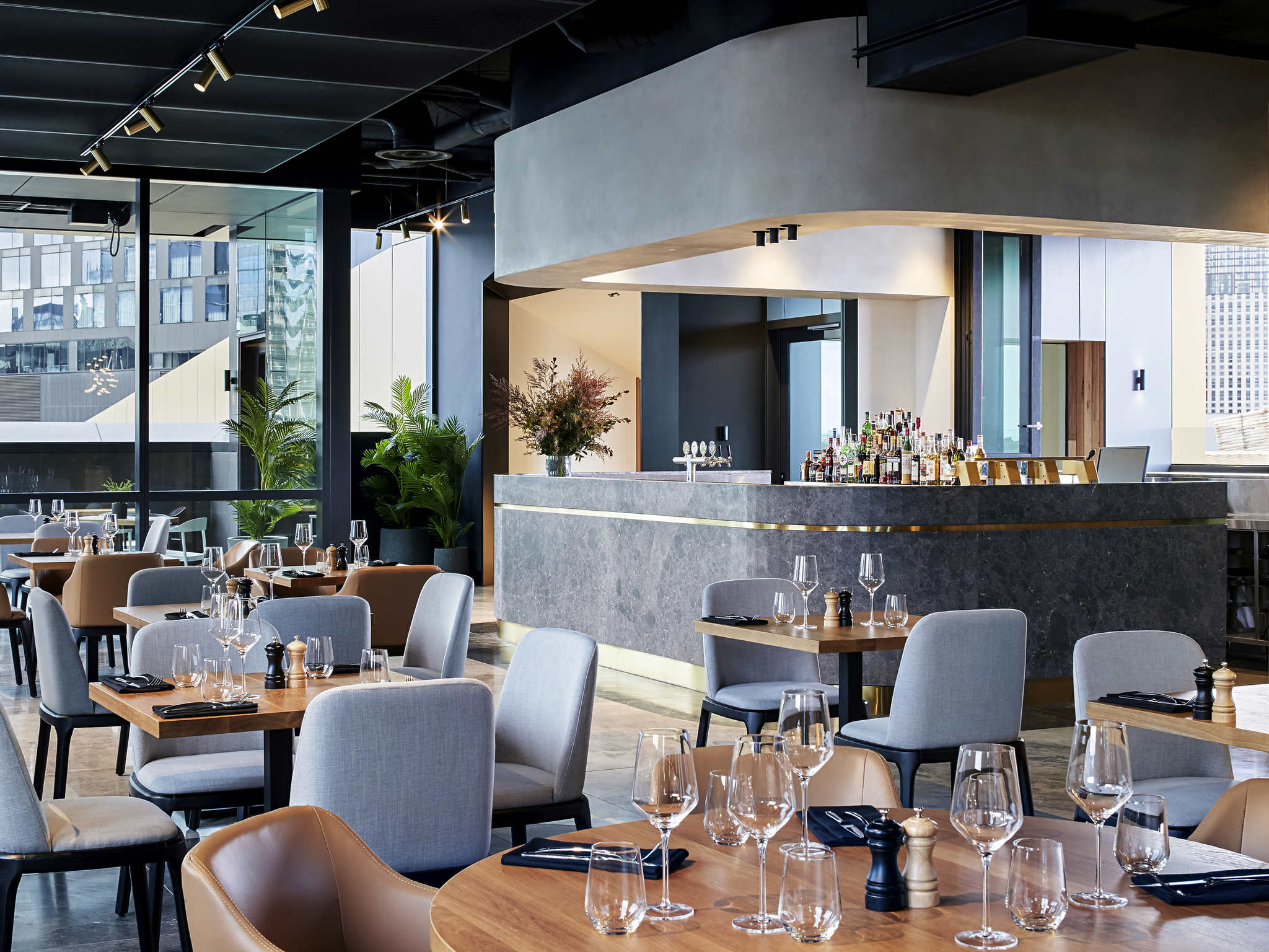 Bar  Novotel Melbourne South Wharf