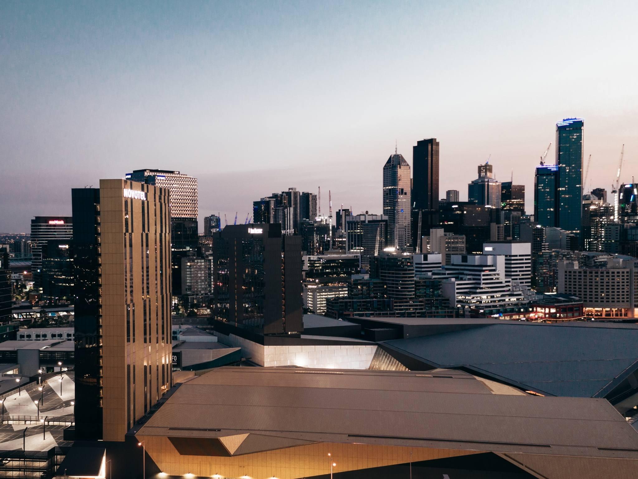 호텔 – Novotel Melbourne South Wharf