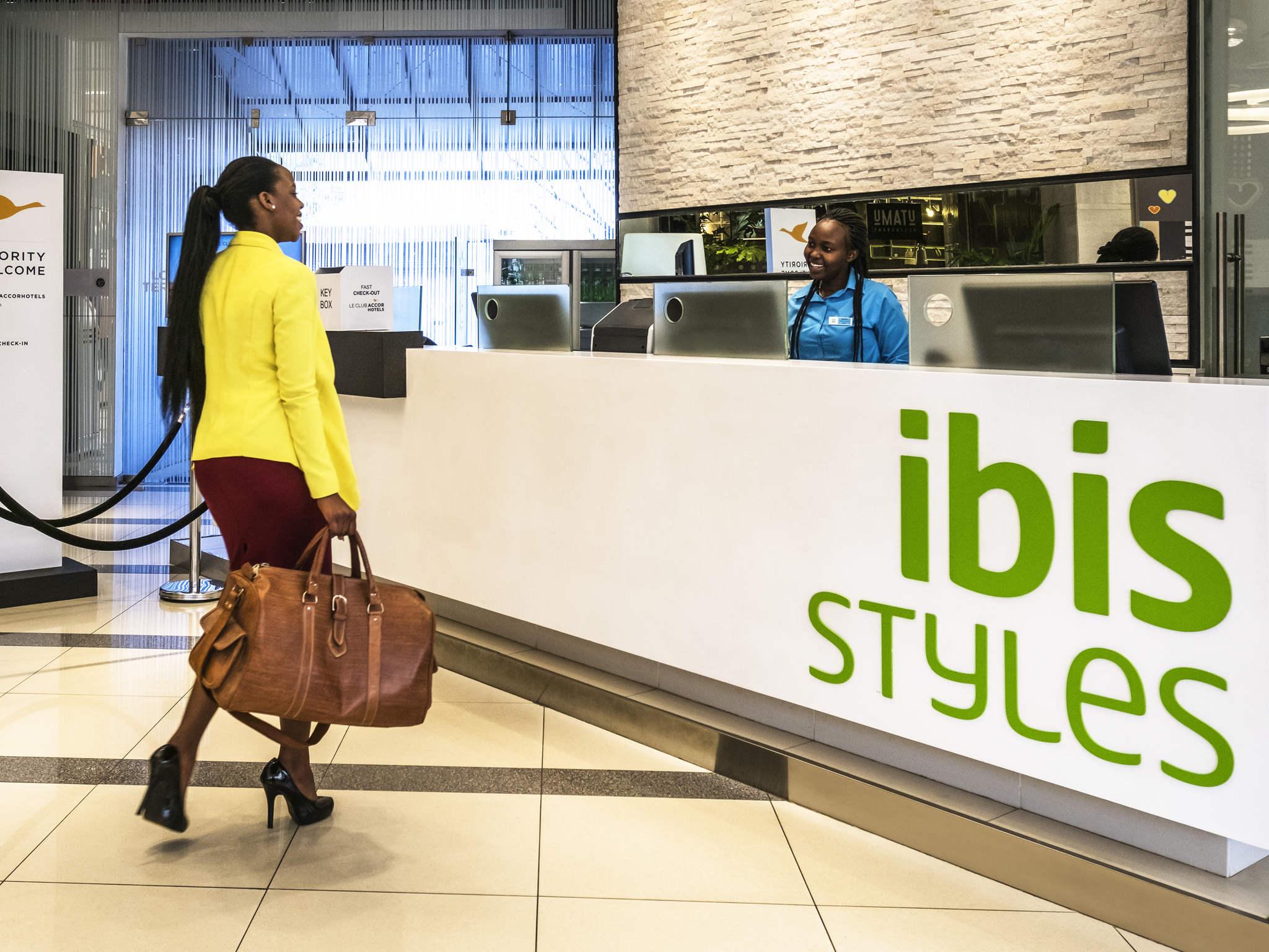 Hotel – ibis Styles Nairobi Westlands