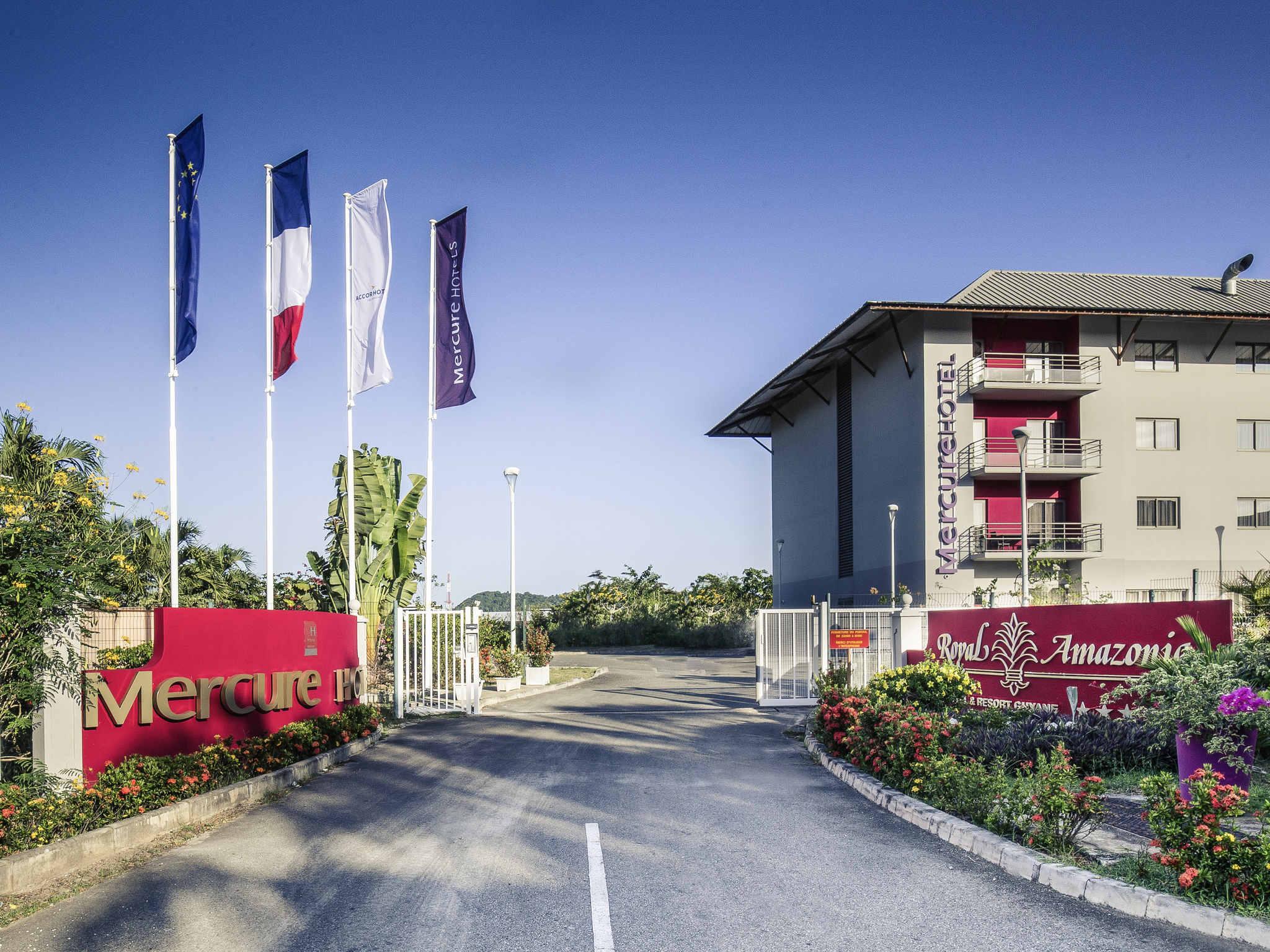 โรงแรม – Hôtel Mercure Cayenne Royal Amazonia