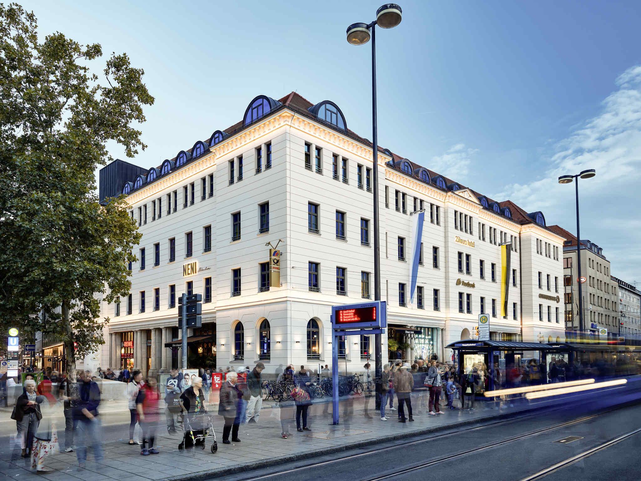 Отель — Отель 25hours The Royal Bavarian