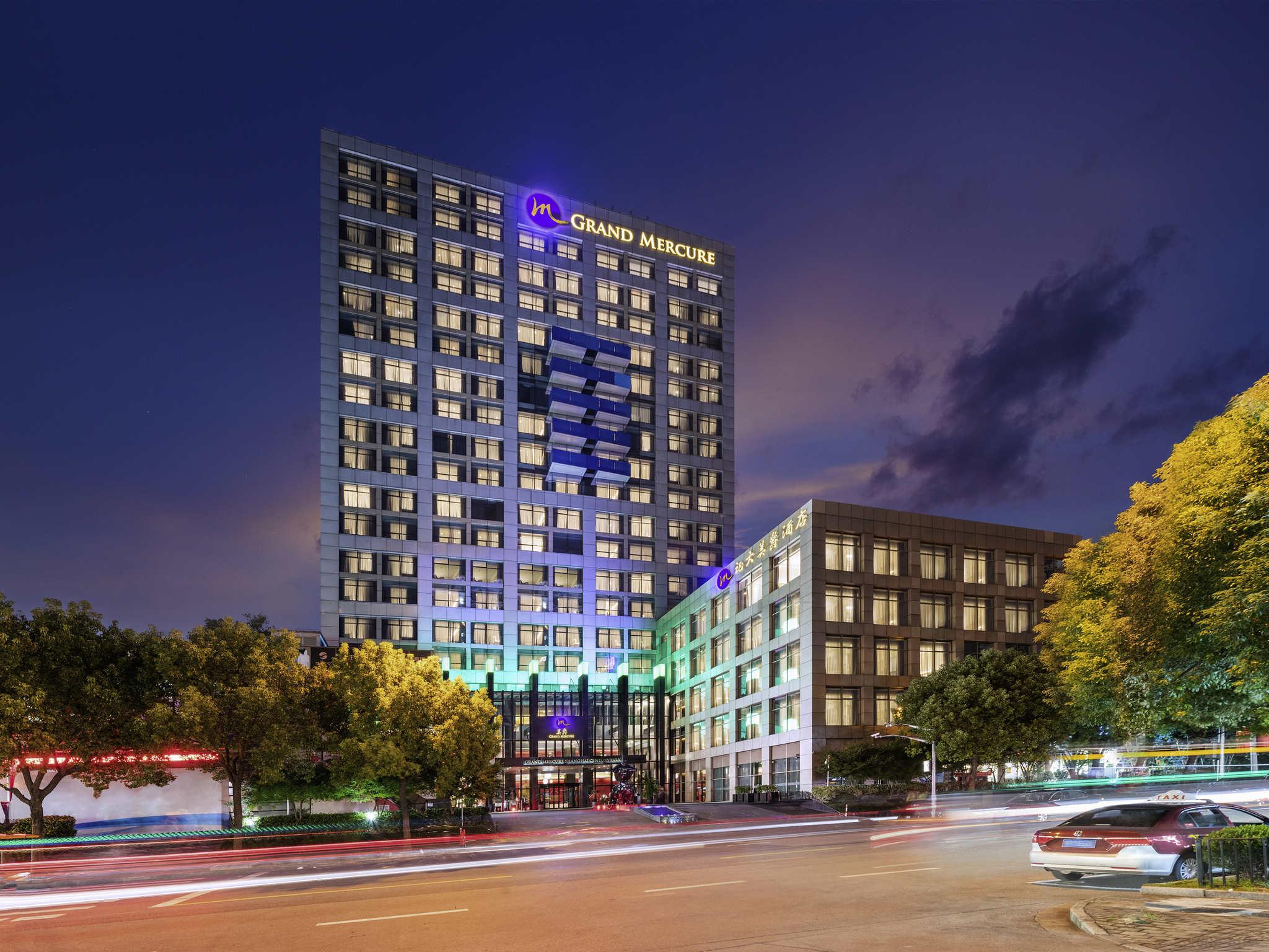 โรงแรม – GRAND MERCURE SHANGHAI CENTURY