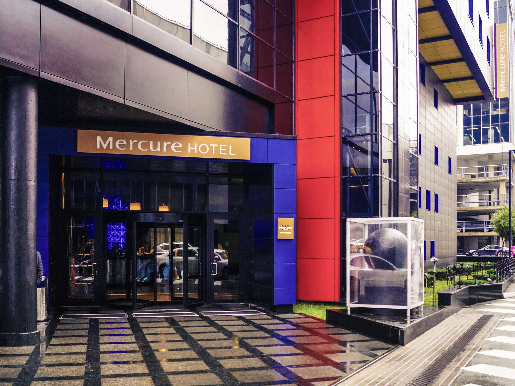 โรงแรม – Mercure Kyiv Congress