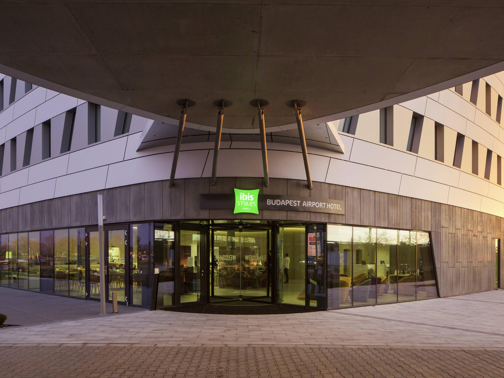 Отель — ibis Styles Будапешт Аэропорт