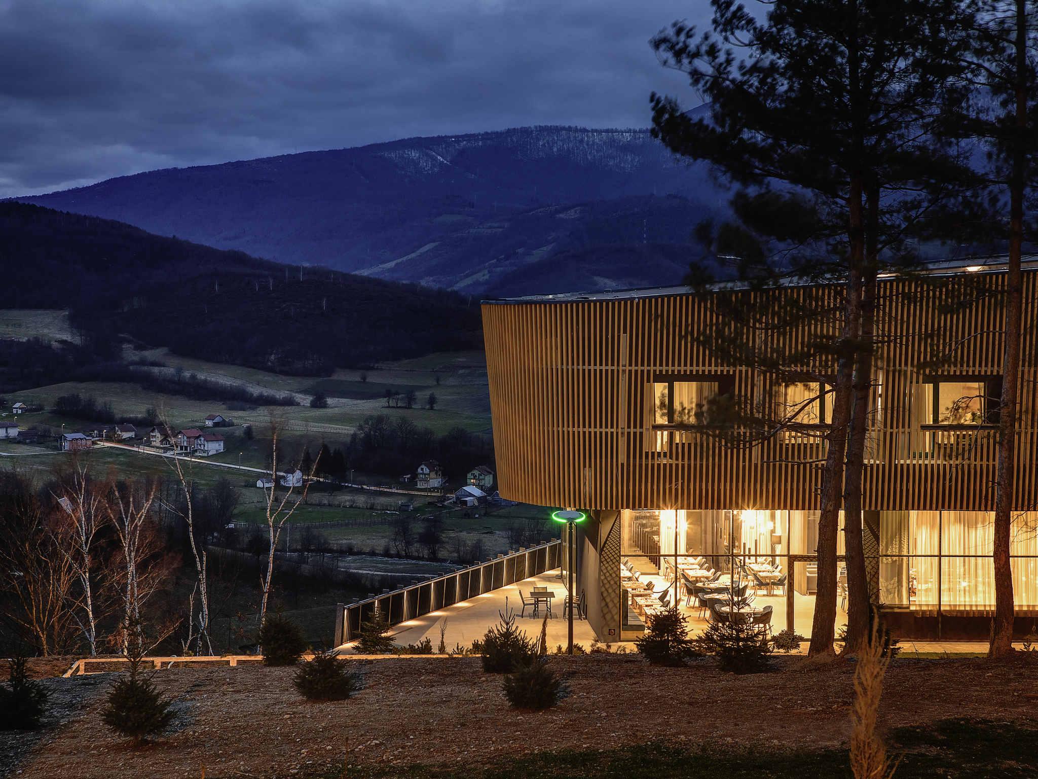 Отель — Tarcin Forest Resort & Spa Sarajevo - MGallery by Sofitel