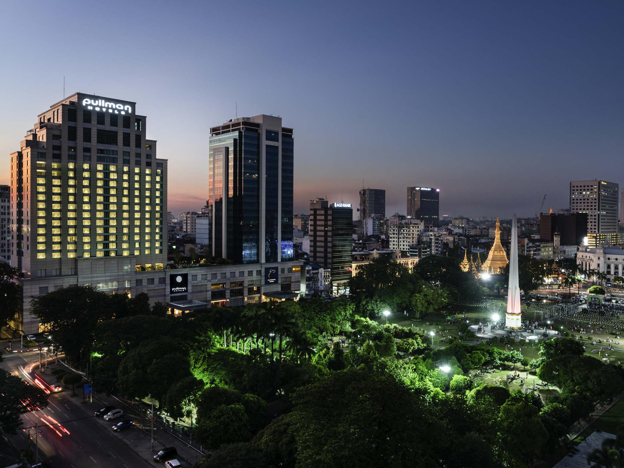 โรงแรม – Pullman Yangon Centrepoint