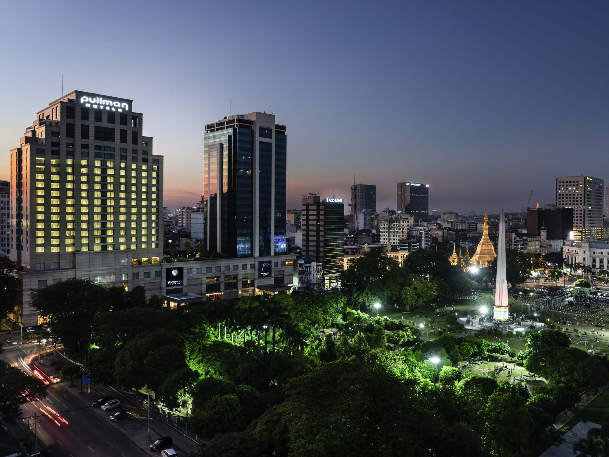 فندق - Pullman Yangon Centrepoint