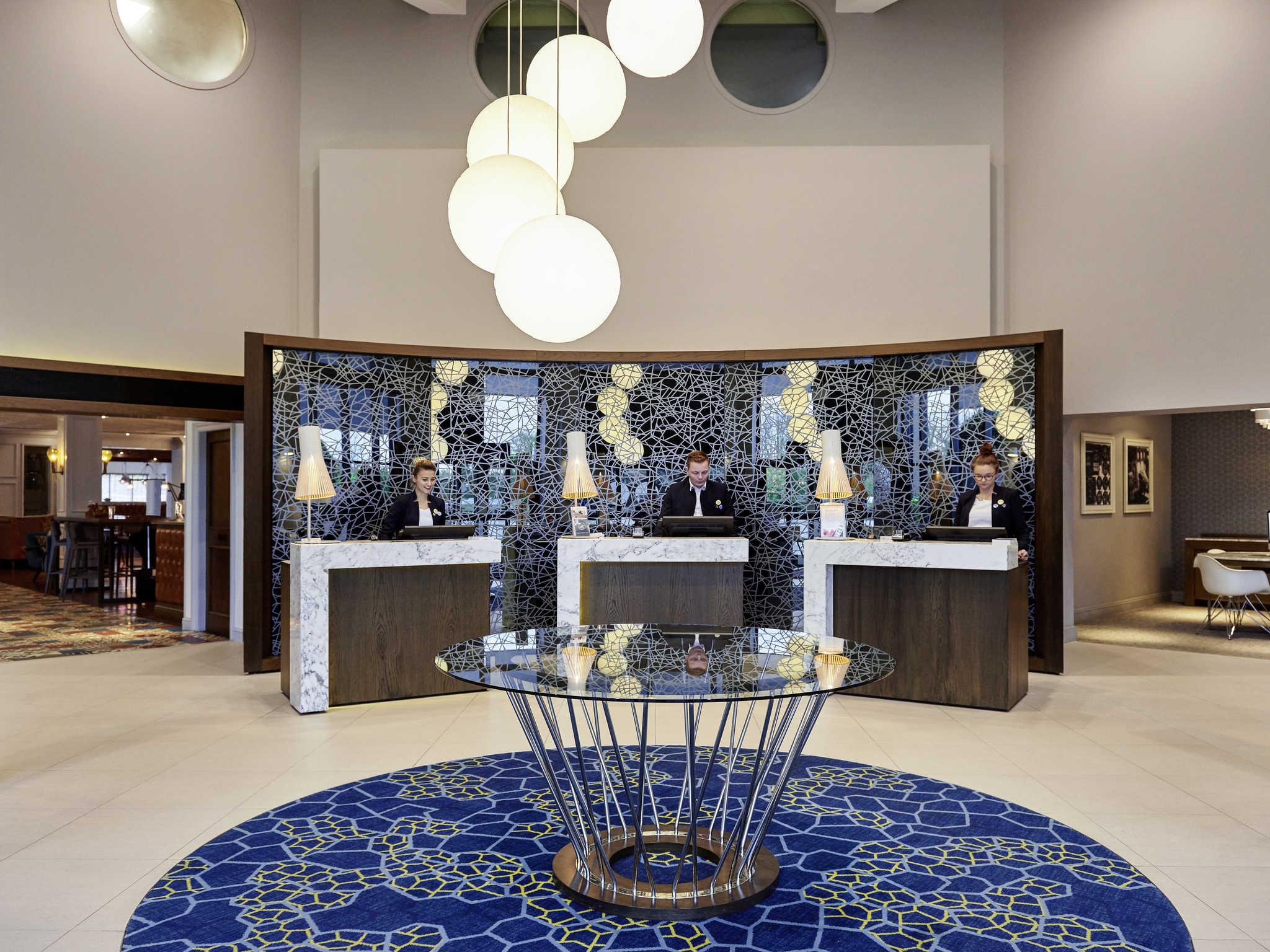Hotel – Novotel London Stansted Airport (já abriu)