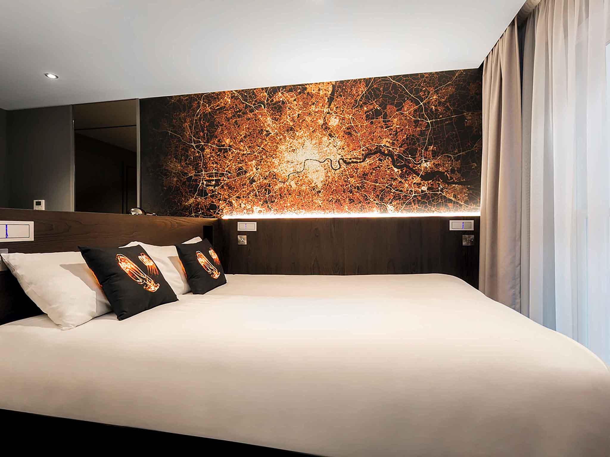 Hotel in london luma concept hotel for Hotel concept