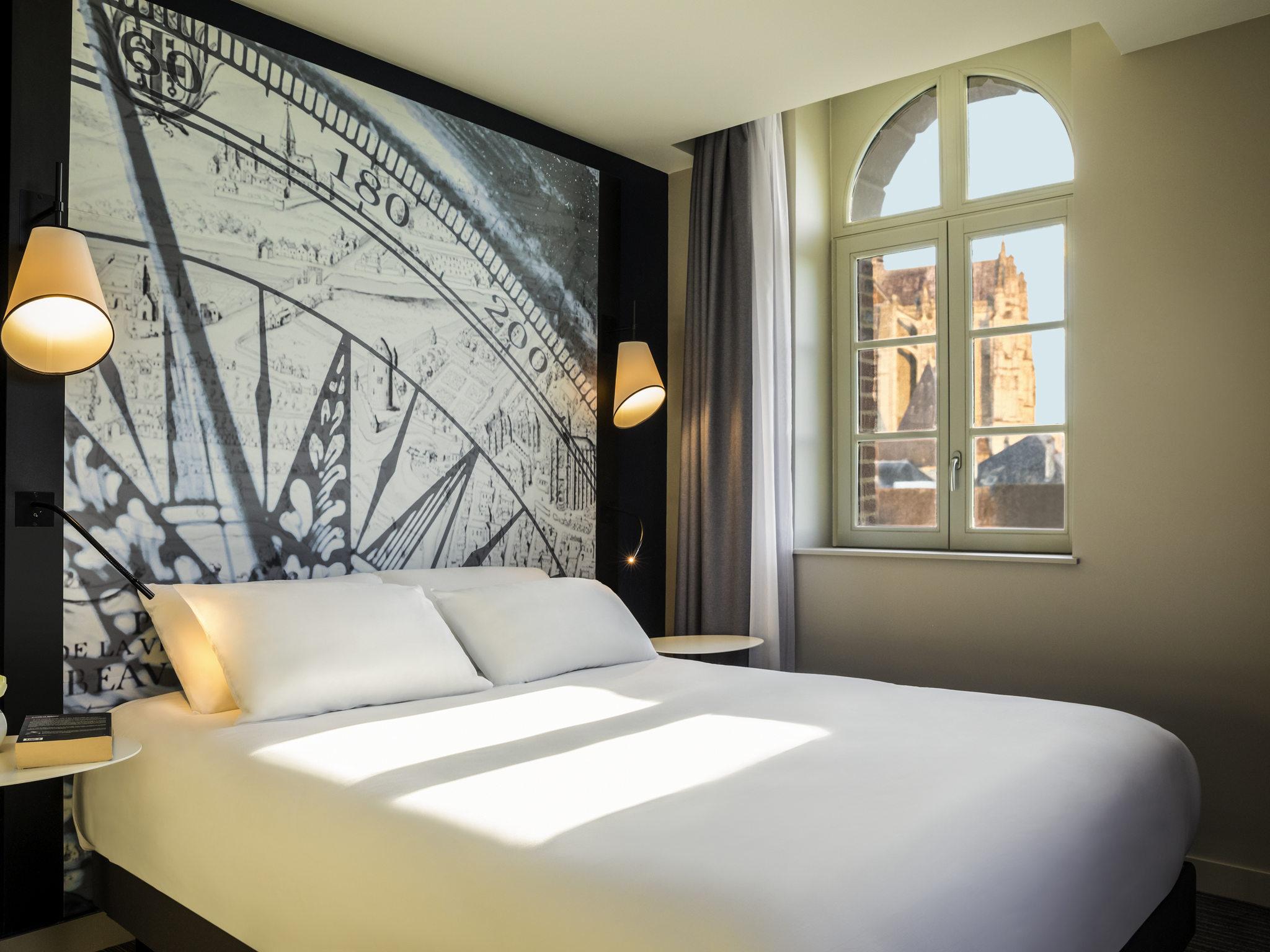 Отель — Hôtel Mercure Beauvais Centre Cathédrale