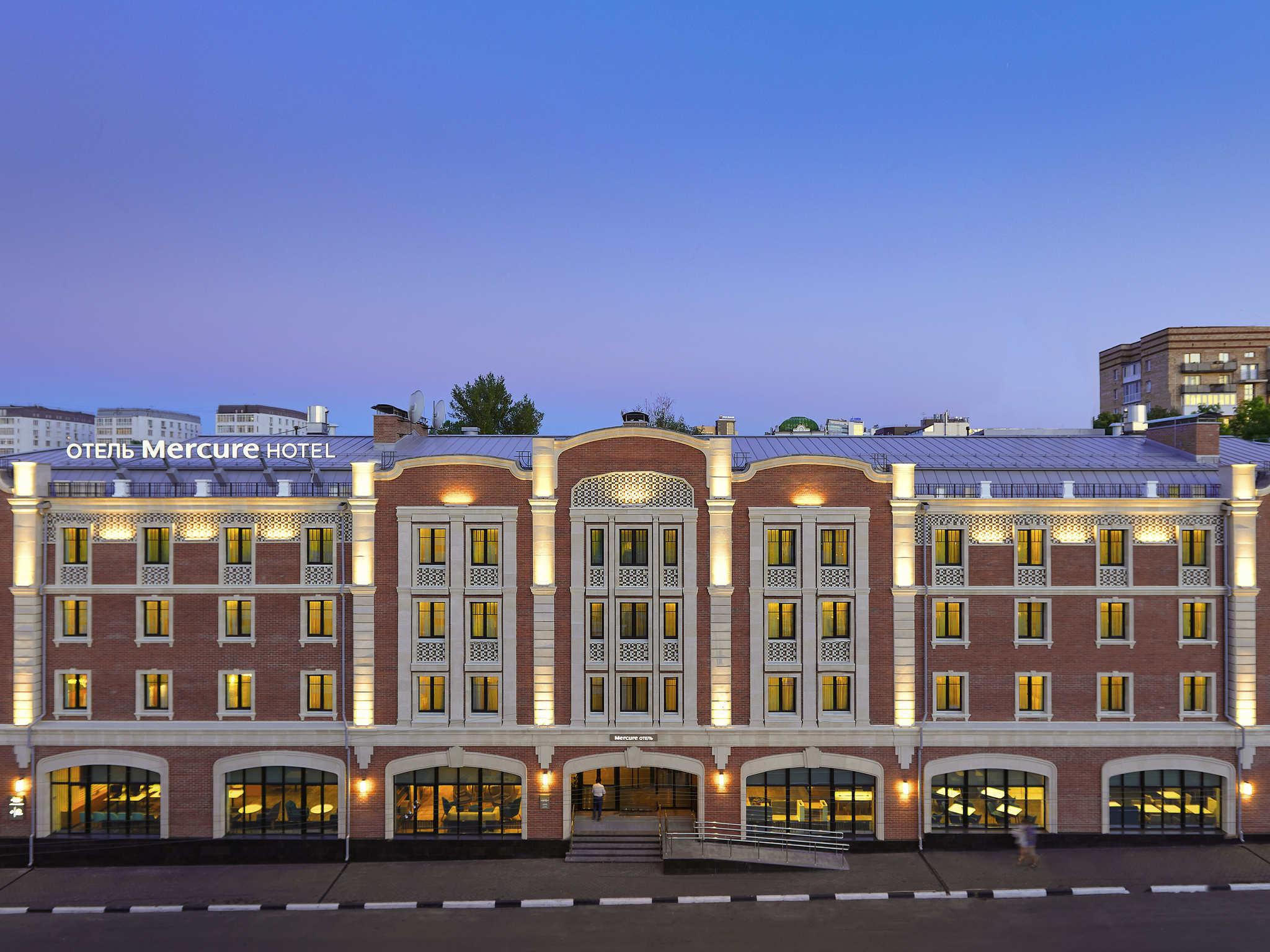 Hotel – Mercure Nizhny Novgorod Center (abre em August de 2018)