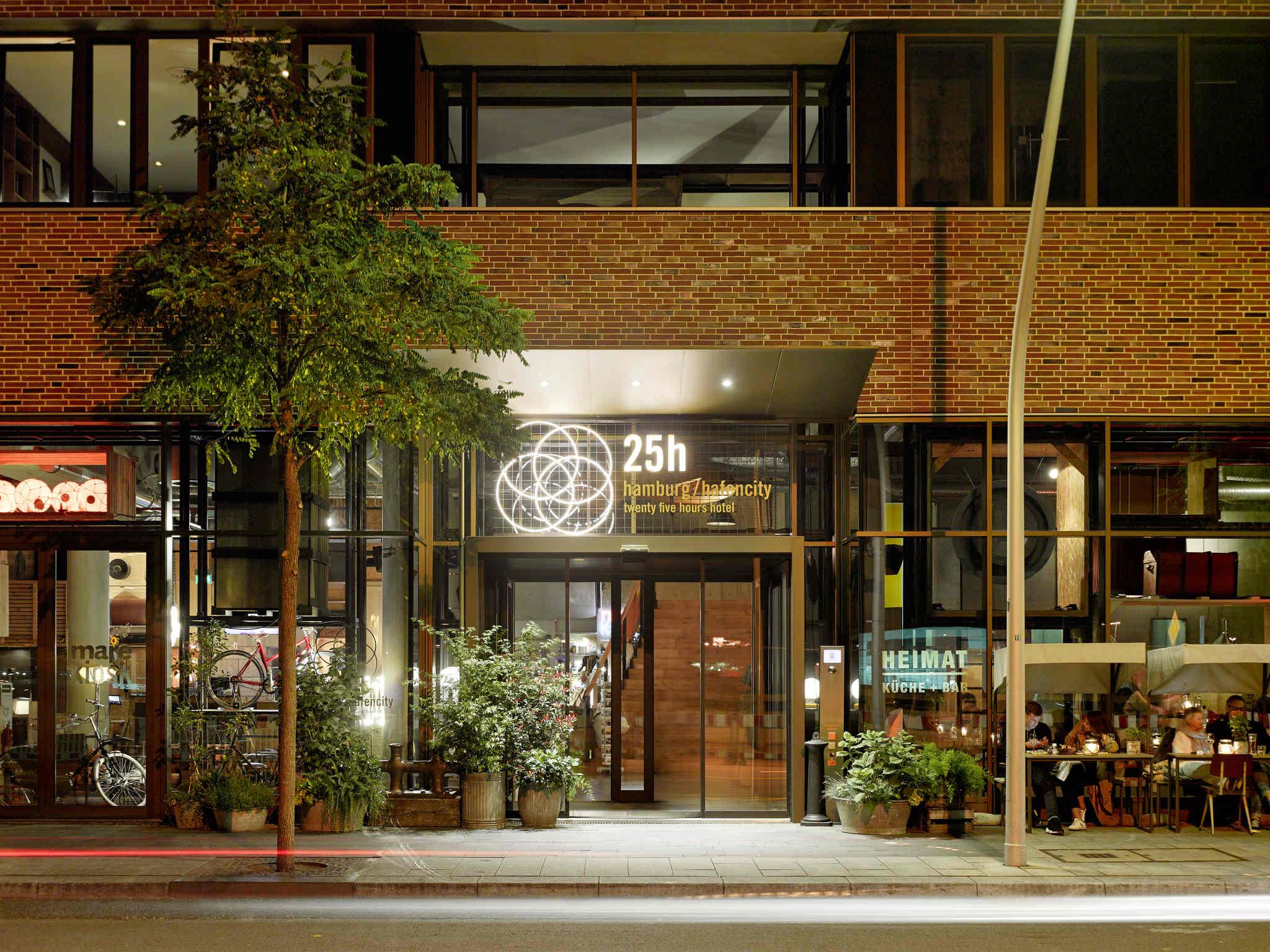 Hotel – Hotel 25hours Hamburg HafenCity