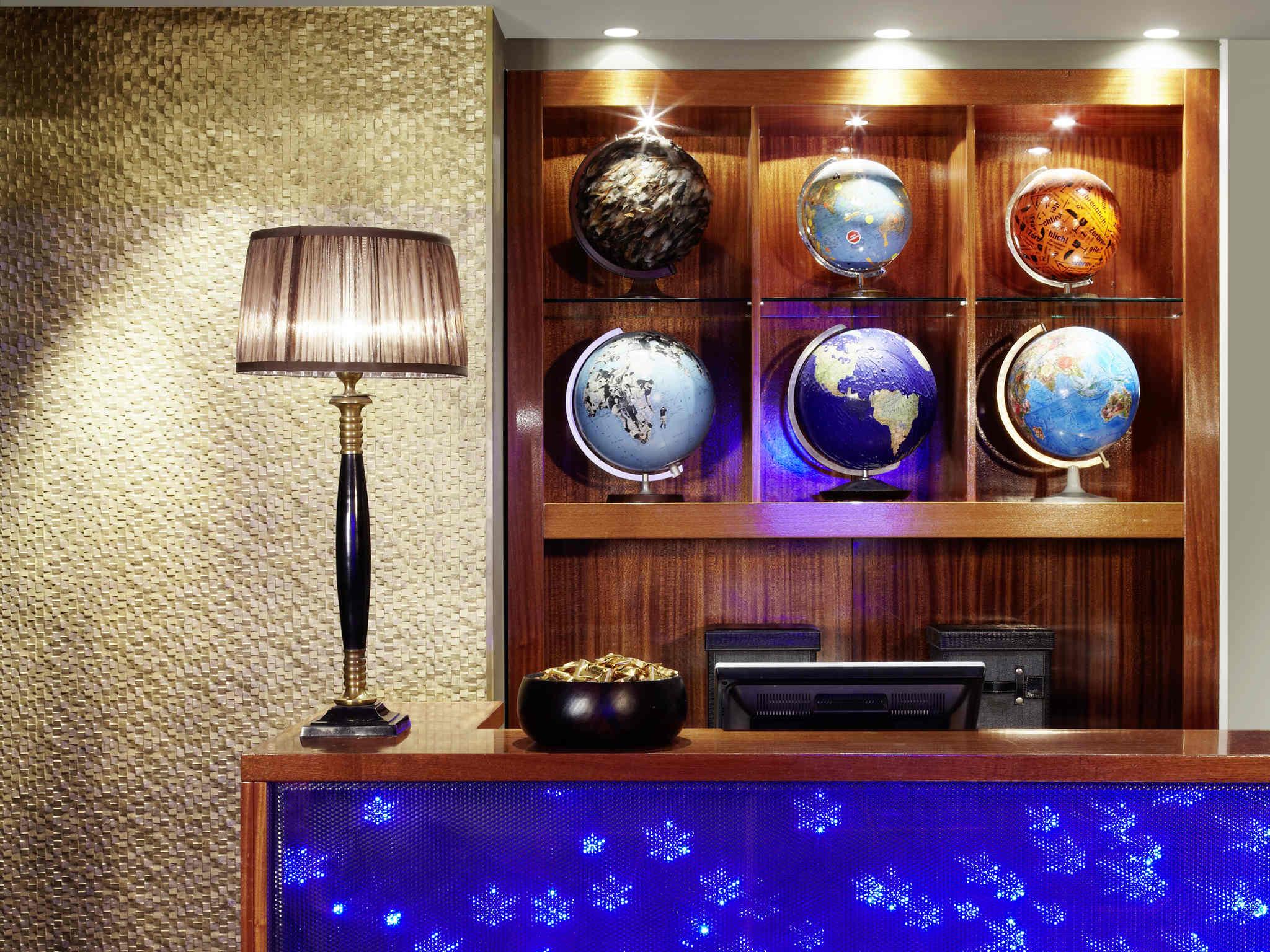 โรงแรม – 25hours Hotel Frankfurt The Goldman