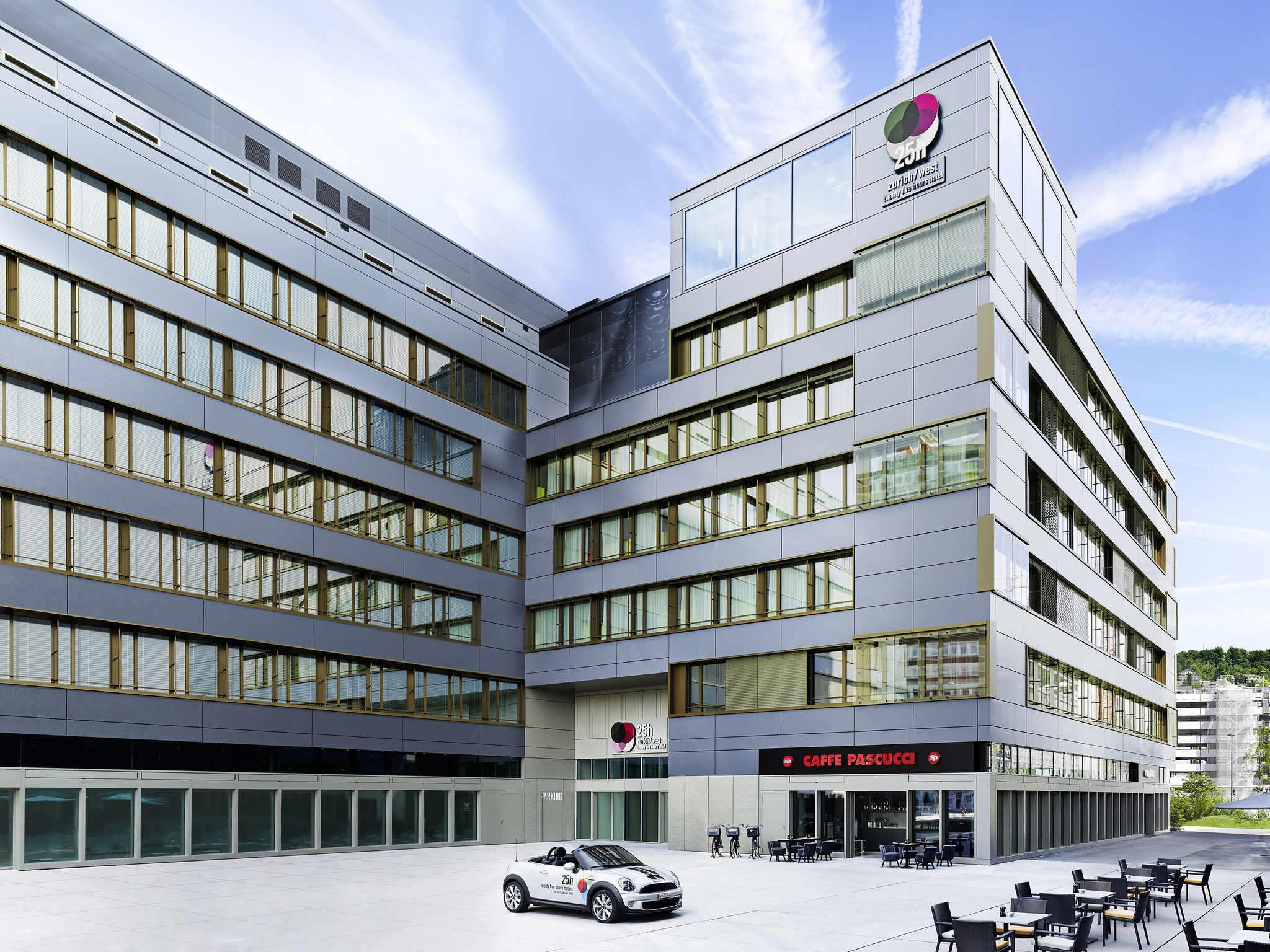 Отель — Отель 25hours Цюрих Вест