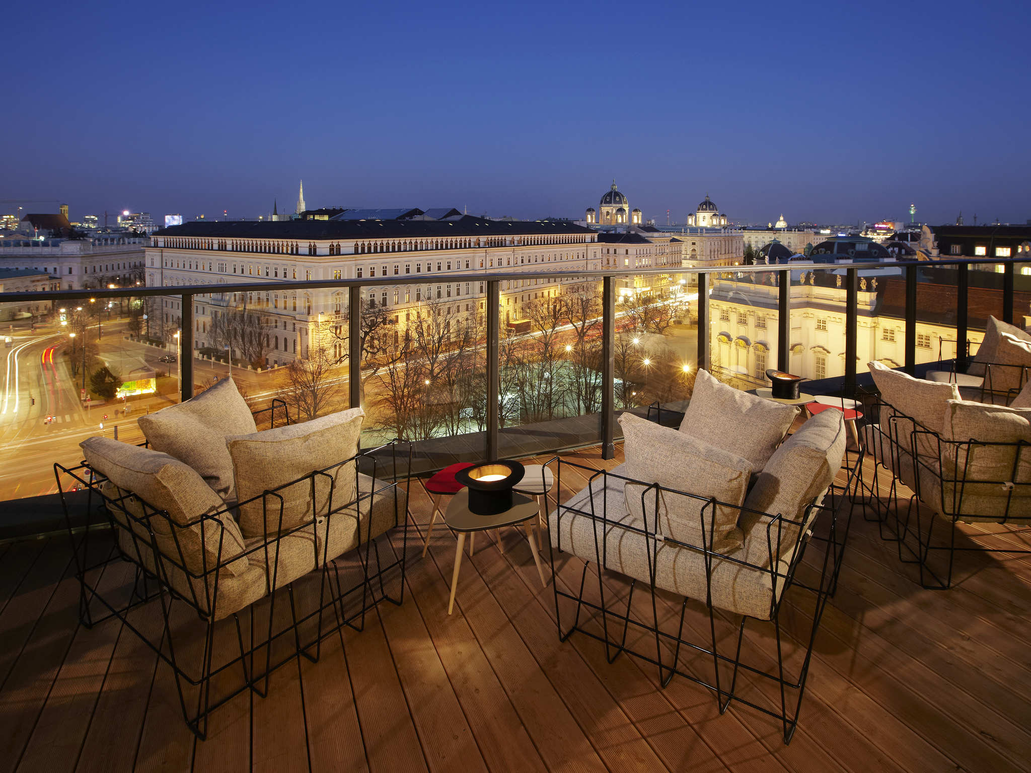 Hotel – Hotel 25hours Vienna at MuseumsQuartier