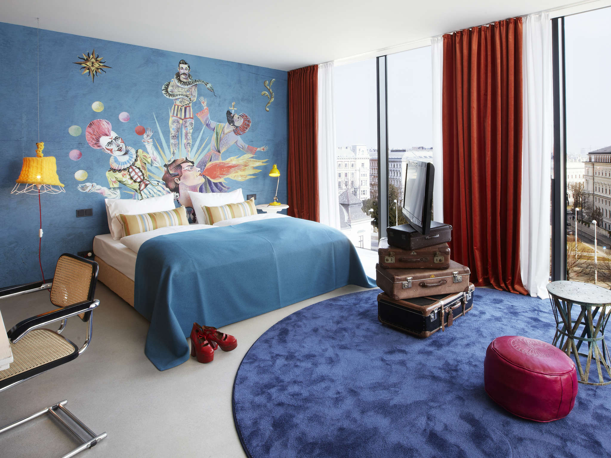 H tel vienne 25hours hotel vienna at museumsquartier for Design hotel 25 hours vienna