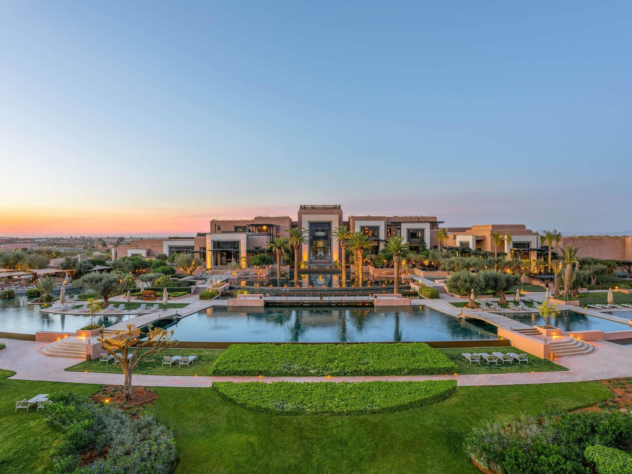 Отель — Fairmont Royal Palm Марракеш