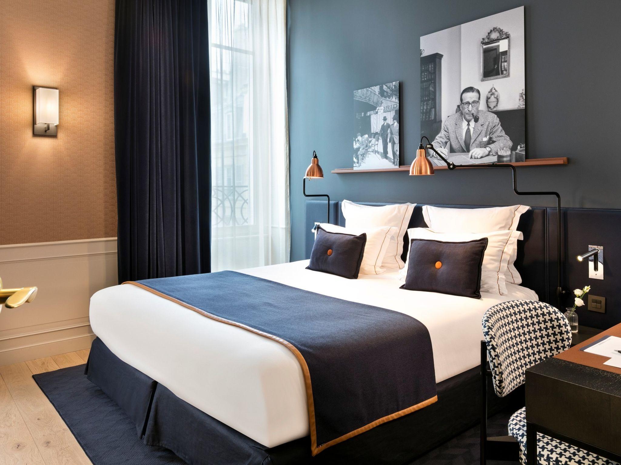 hotel in paris hotel square louvois. Black Bedroom Furniture Sets. Home Design Ideas