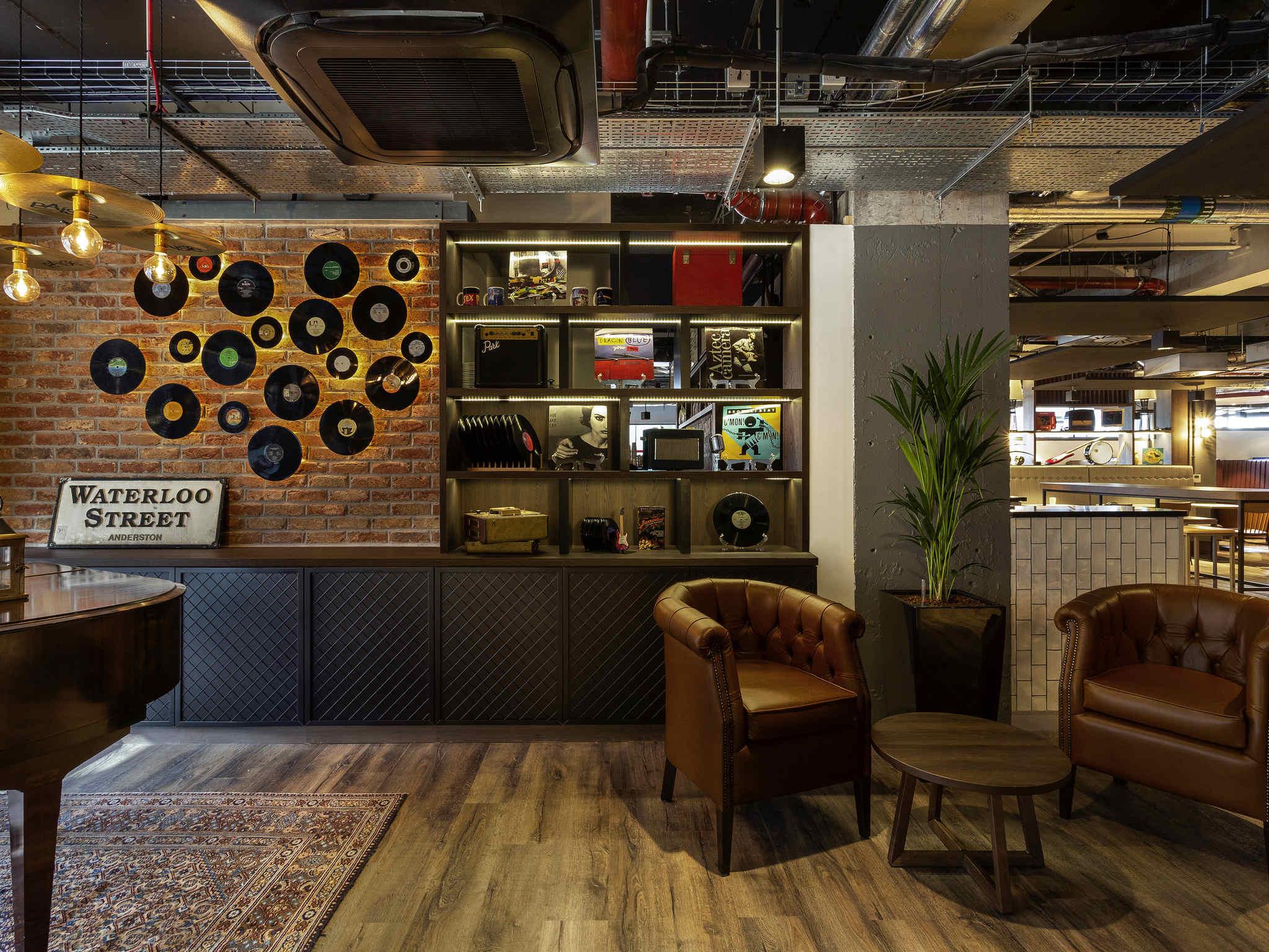 Hotell – ibis Styles Glasgow Centre West