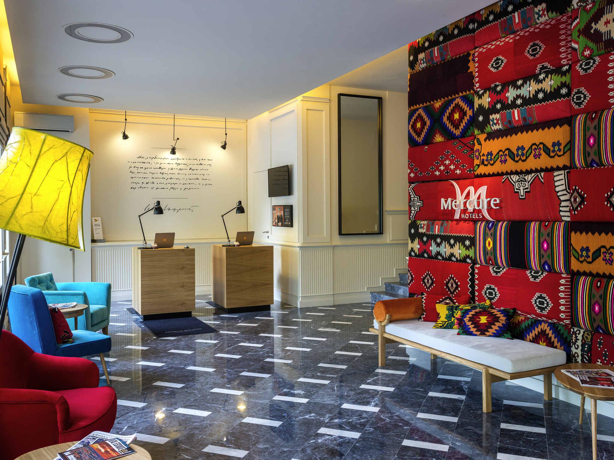 호텔 – Mercure Belgrade Excelsior