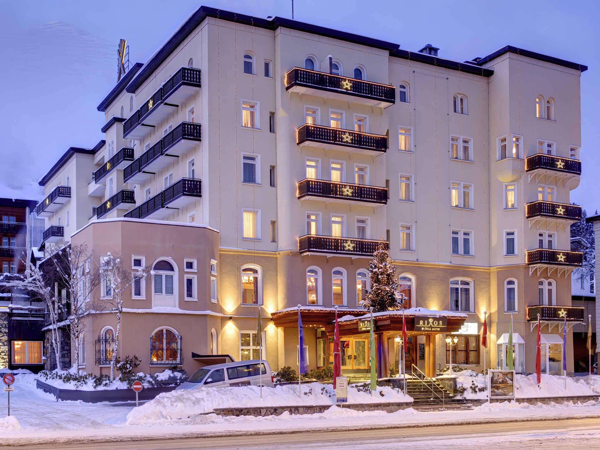 호텔 – Rixos Fluela Davos