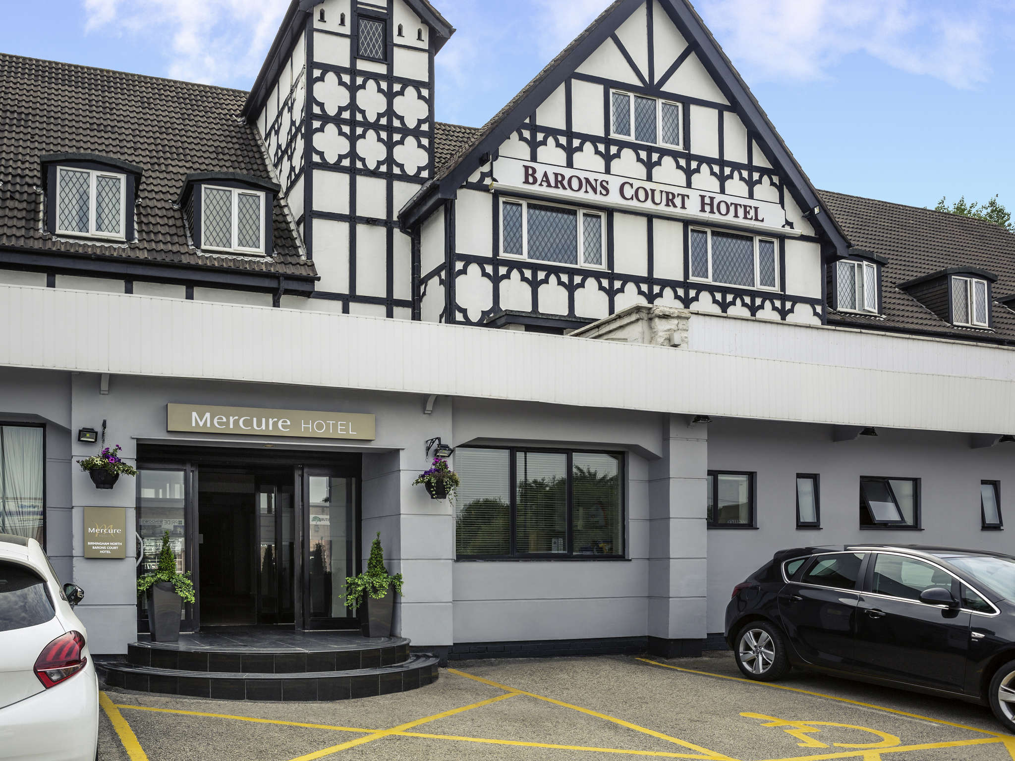 Отель — Mercure Birmingham North Barons Court Hotel