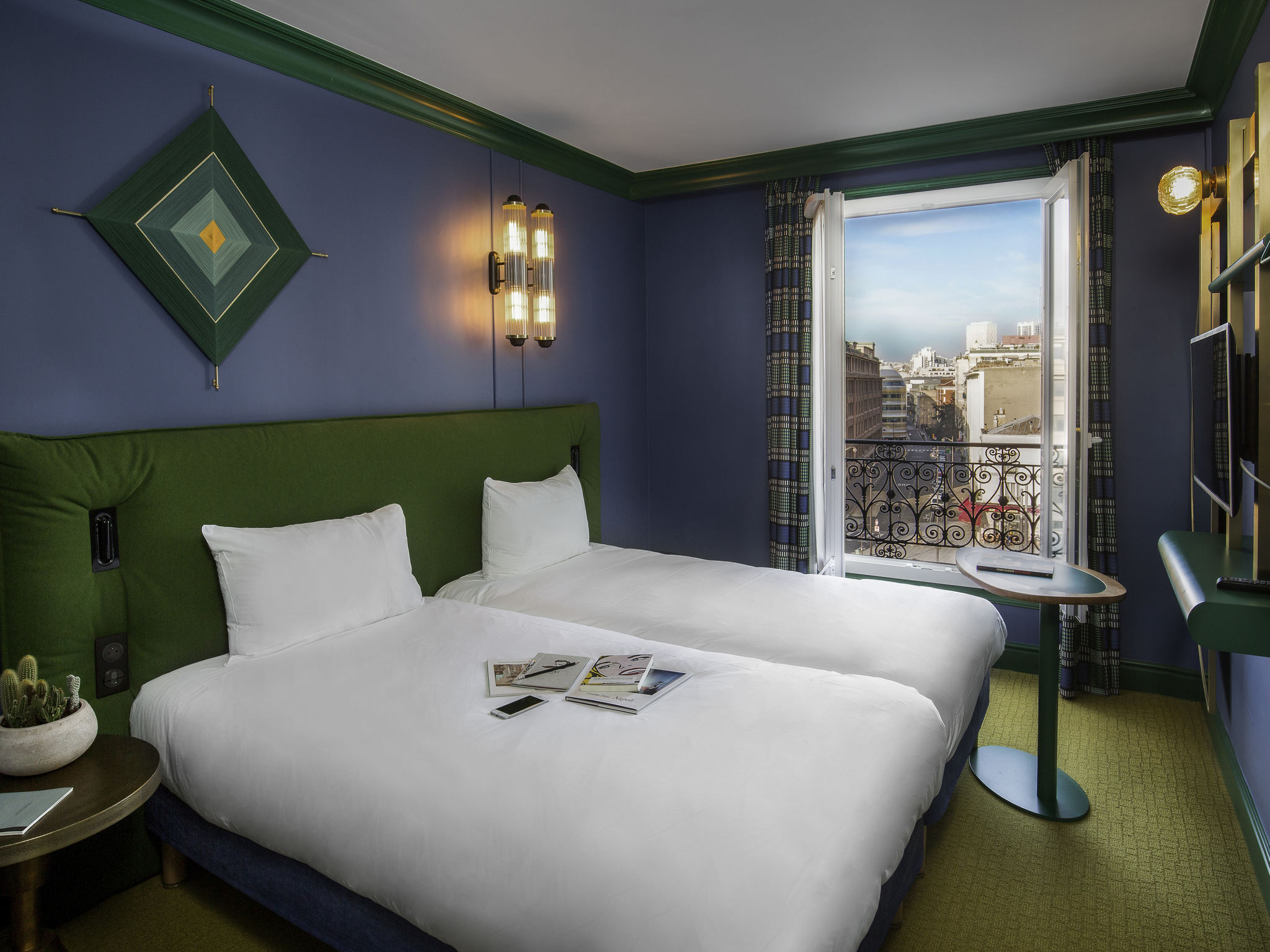 호텔 – 이비스 스타일 파리 나시옹 쿠르 데 뱅센