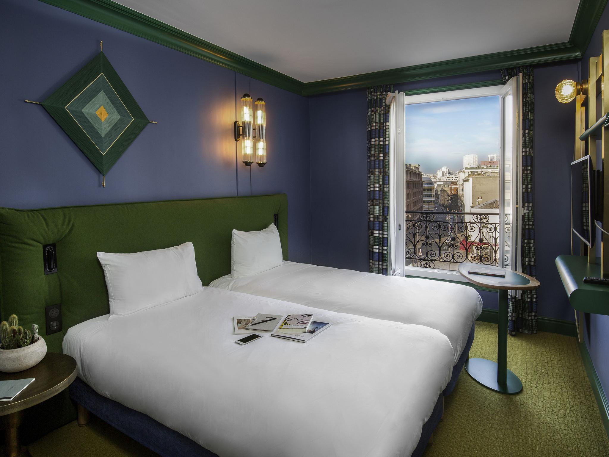 酒店 – 宜必思尚品巴黎民族广场文森庭院大道酒店