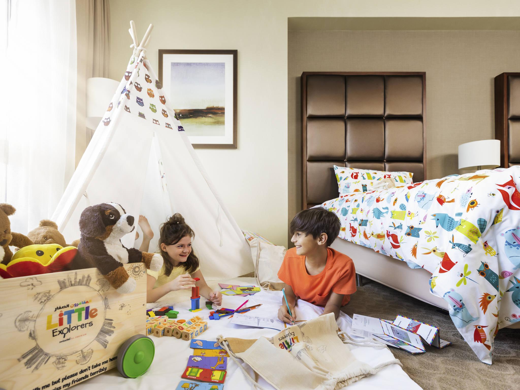 فندق - فندق سويسوتيل الغُرَير