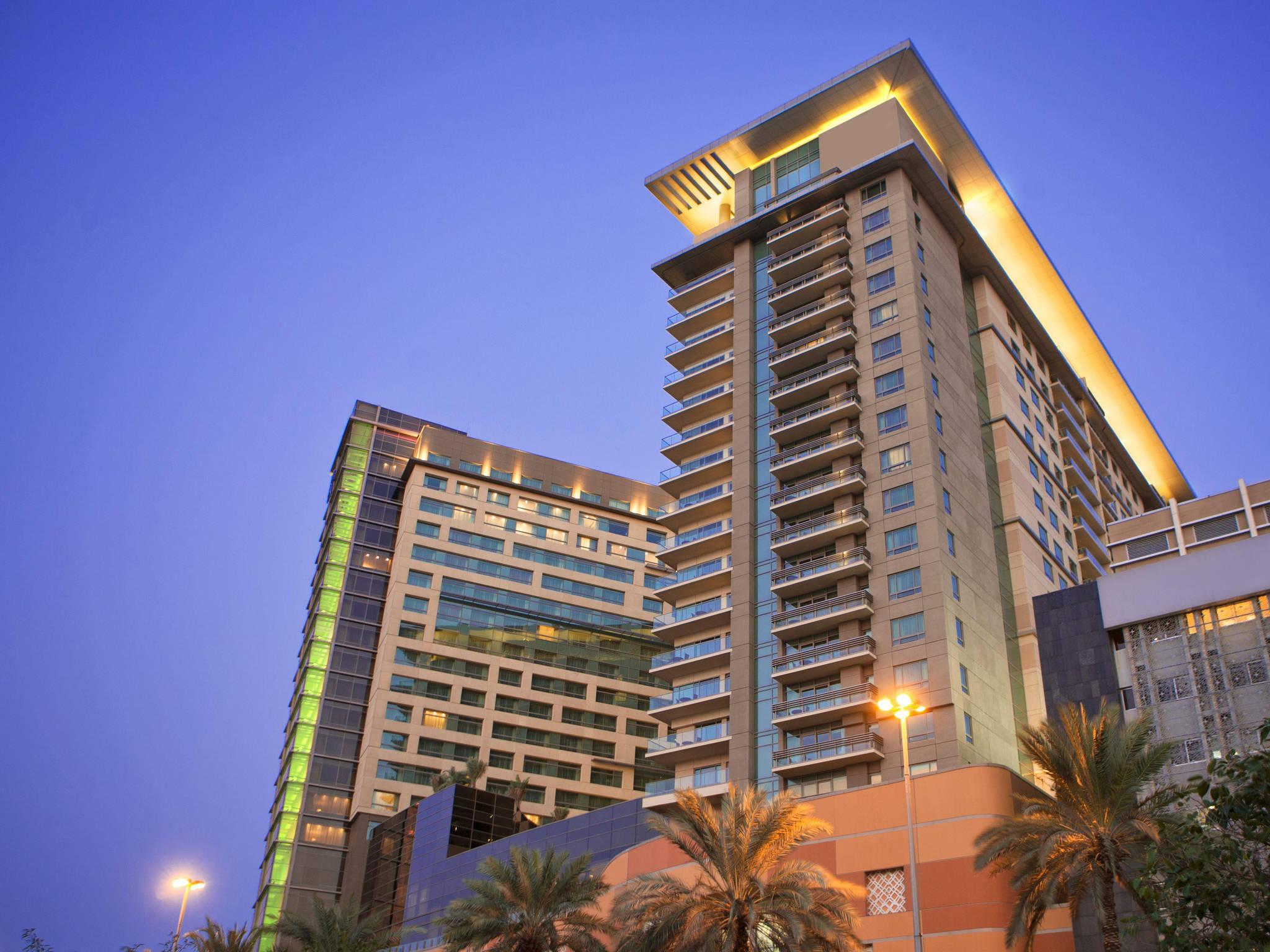 โรงแรม – Al Ghurair Living บริหารโดย AccorHotels (เปิดกรกฎาคม 2017)