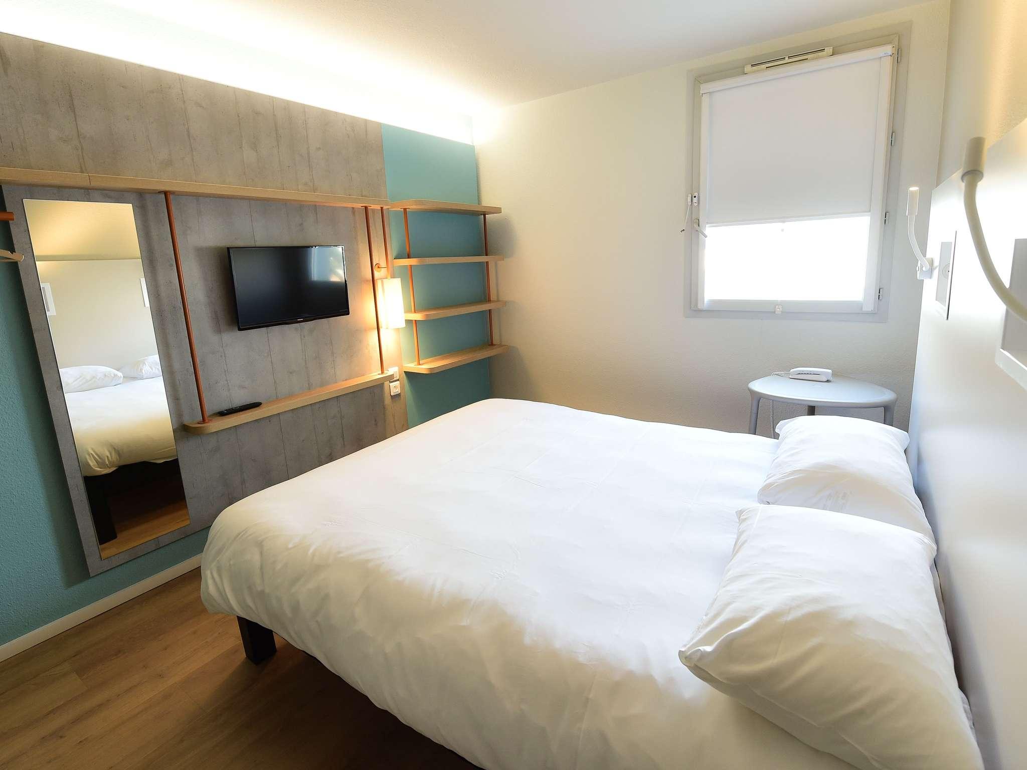 Отель — ibis budget Дижон Центр Клемансо