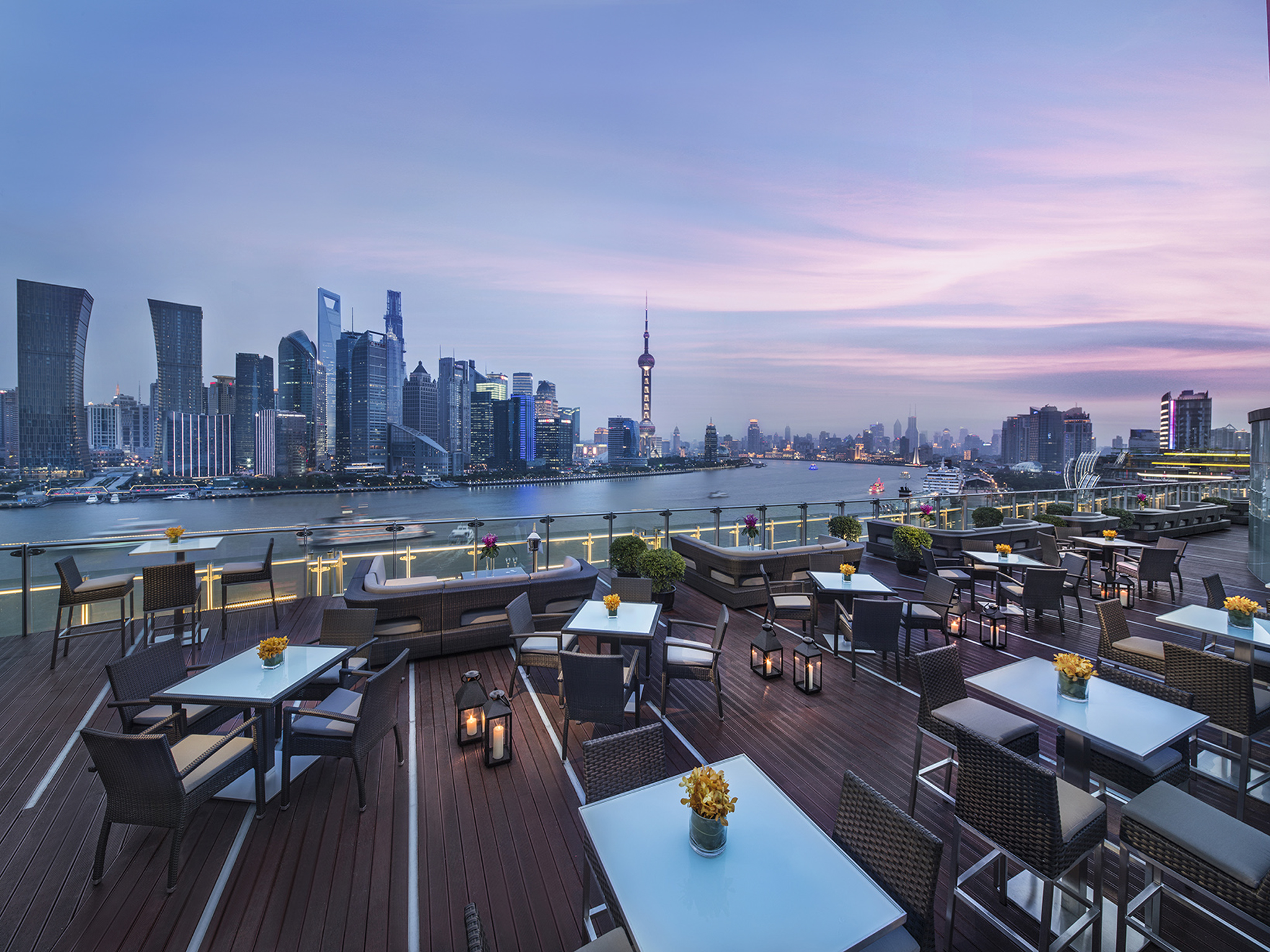 โรงแรม – Banyan Tree Shanghai on the Bund
