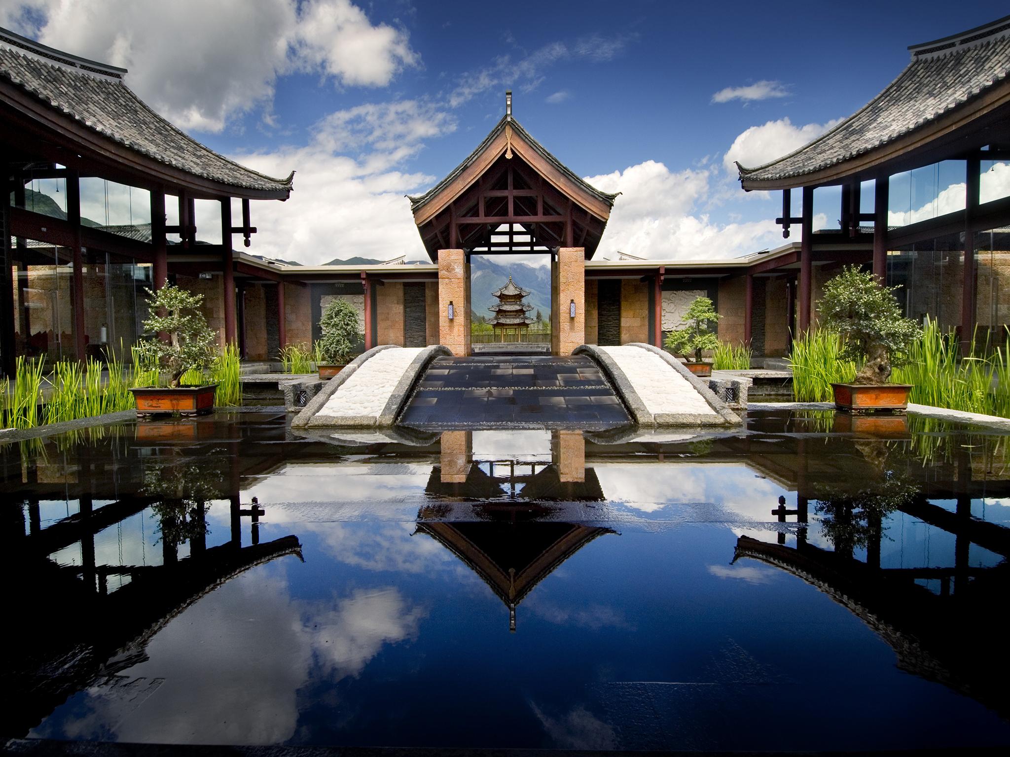 โรงแรม – Banyan Tree Lijiang