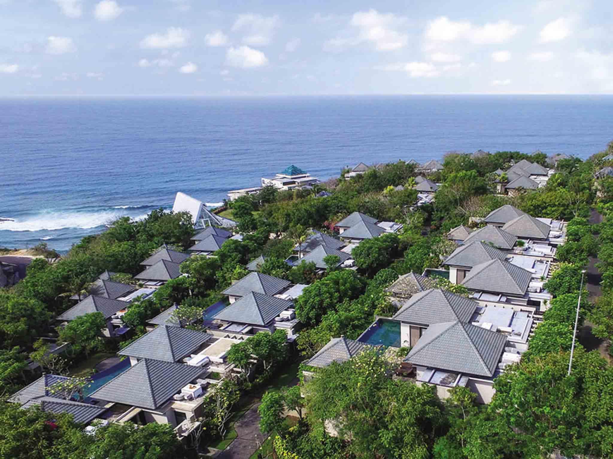 Hotell – Banyan Tree Ungasan - Bali