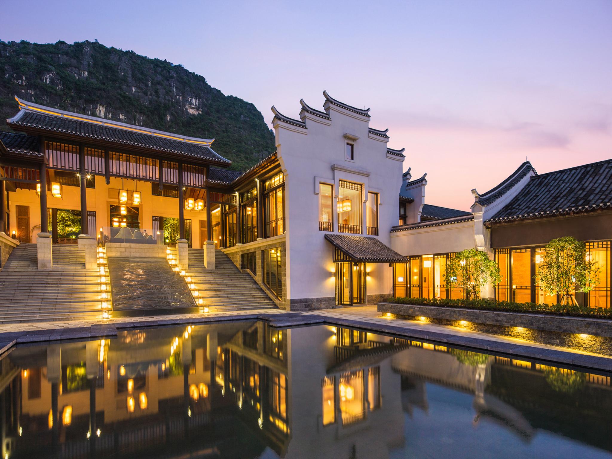 โรงแรม – Banyan Tree Yangshuo