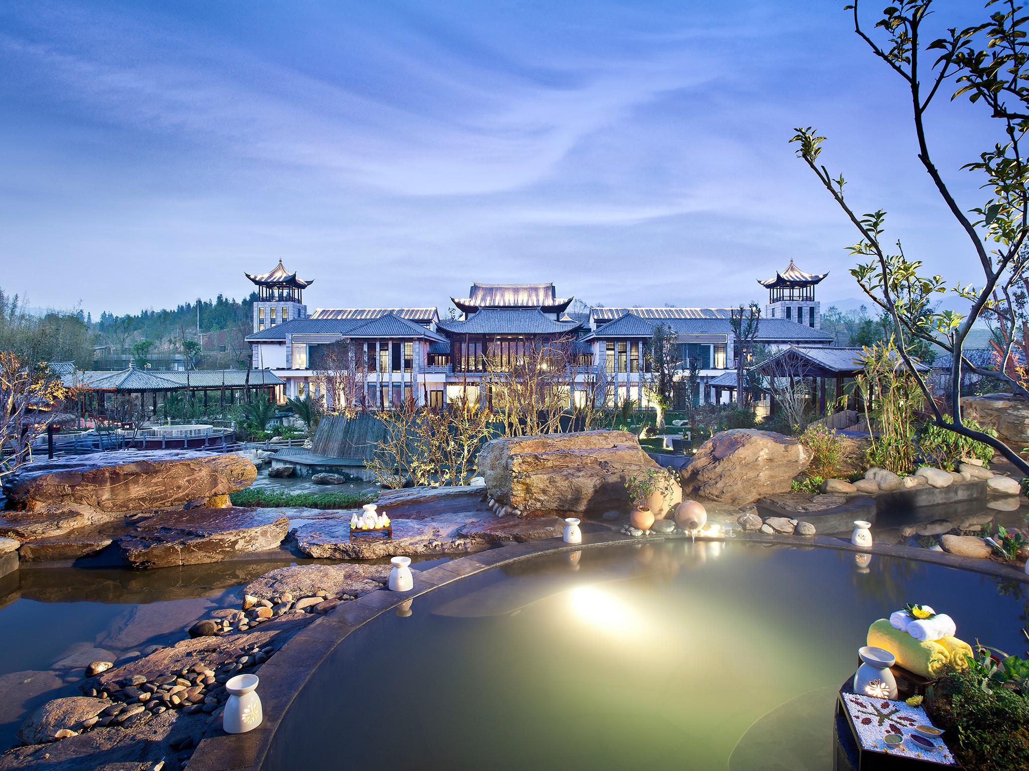 โรงแรม – Banyan Tree Tengchong