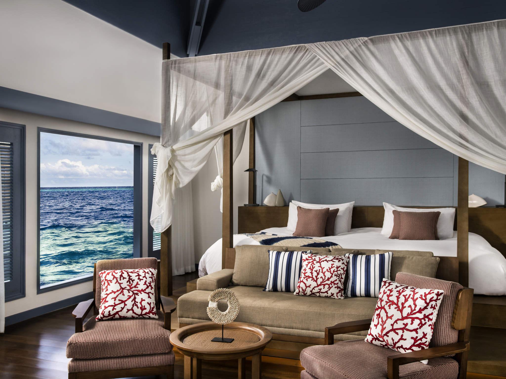 Hotel dhevanafushi maldives luxury resort gestito da accorhotels