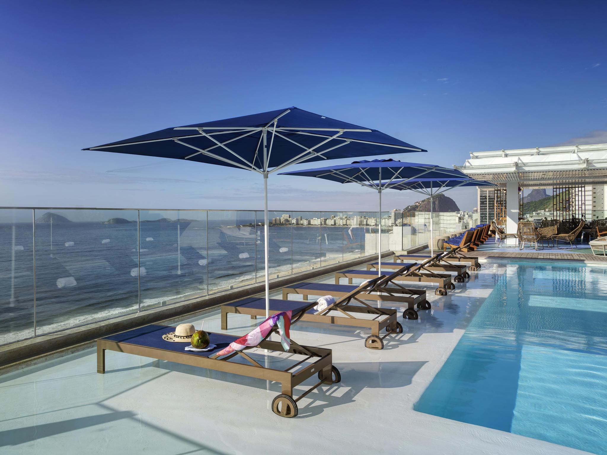 فندق - Novotel Rio de Janeiro Leme
