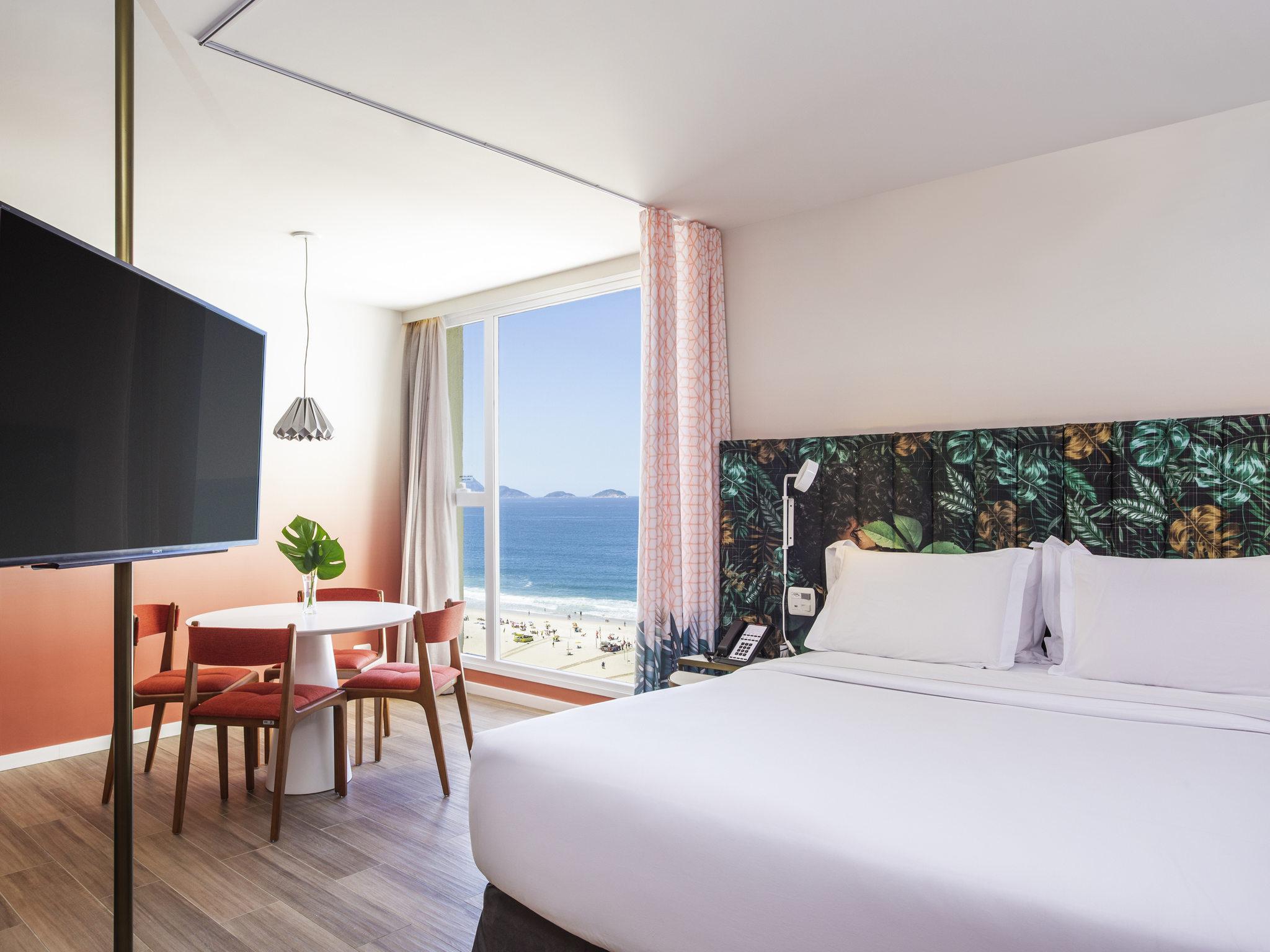Отель — Mercure Рио-де-Жанейро Копакабана