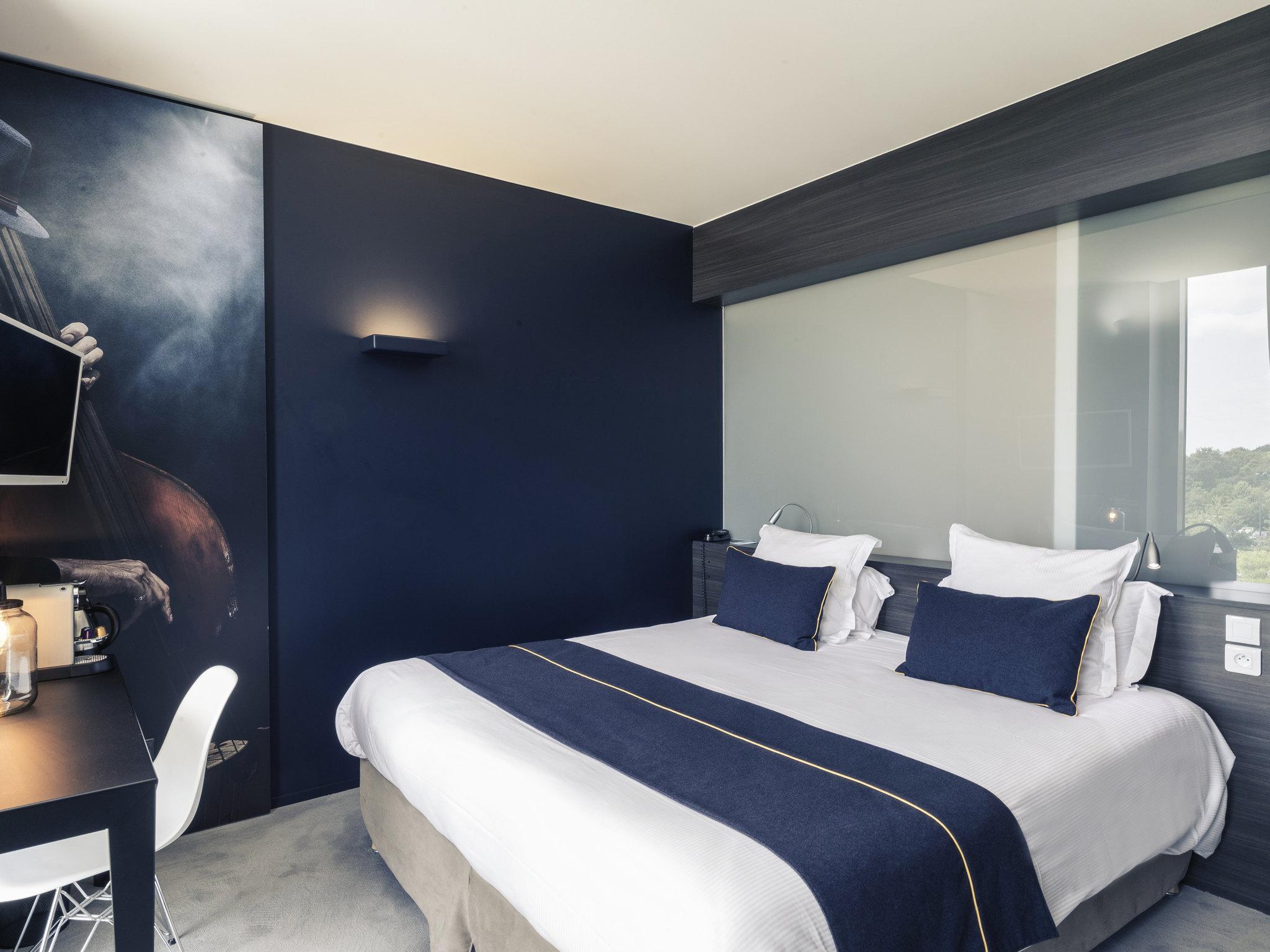 Отель — Hôtel Mercure Zénith Nantes Saint-Herblain