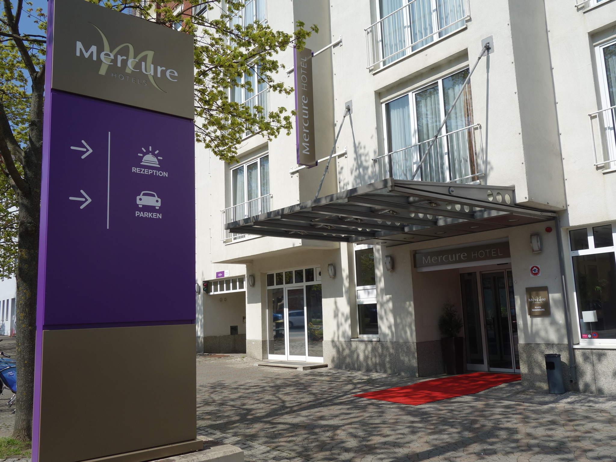 Отель — Mercure Hotel Plaza Magdeburg