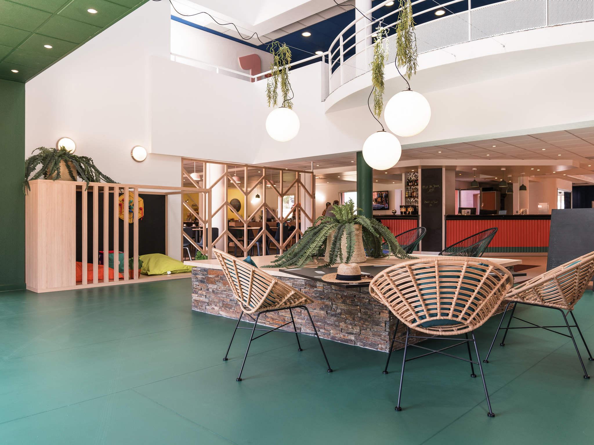 Hotel – ibis Styles Marseille les Pennes Mirabeau (enero de 2018)