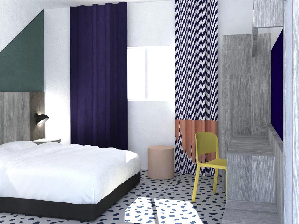 h tel les pennes mirabeau ibis styles marseille plan de campagne. Black Bedroom Furniture Sets. Home Design Ideas