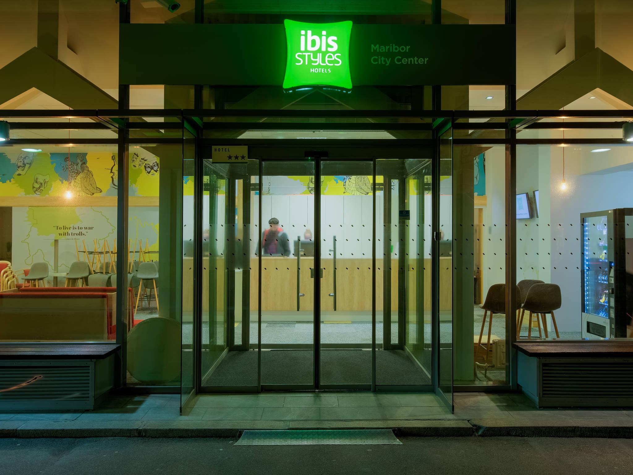 Отель — ibis Styles Марибор Сити Центр