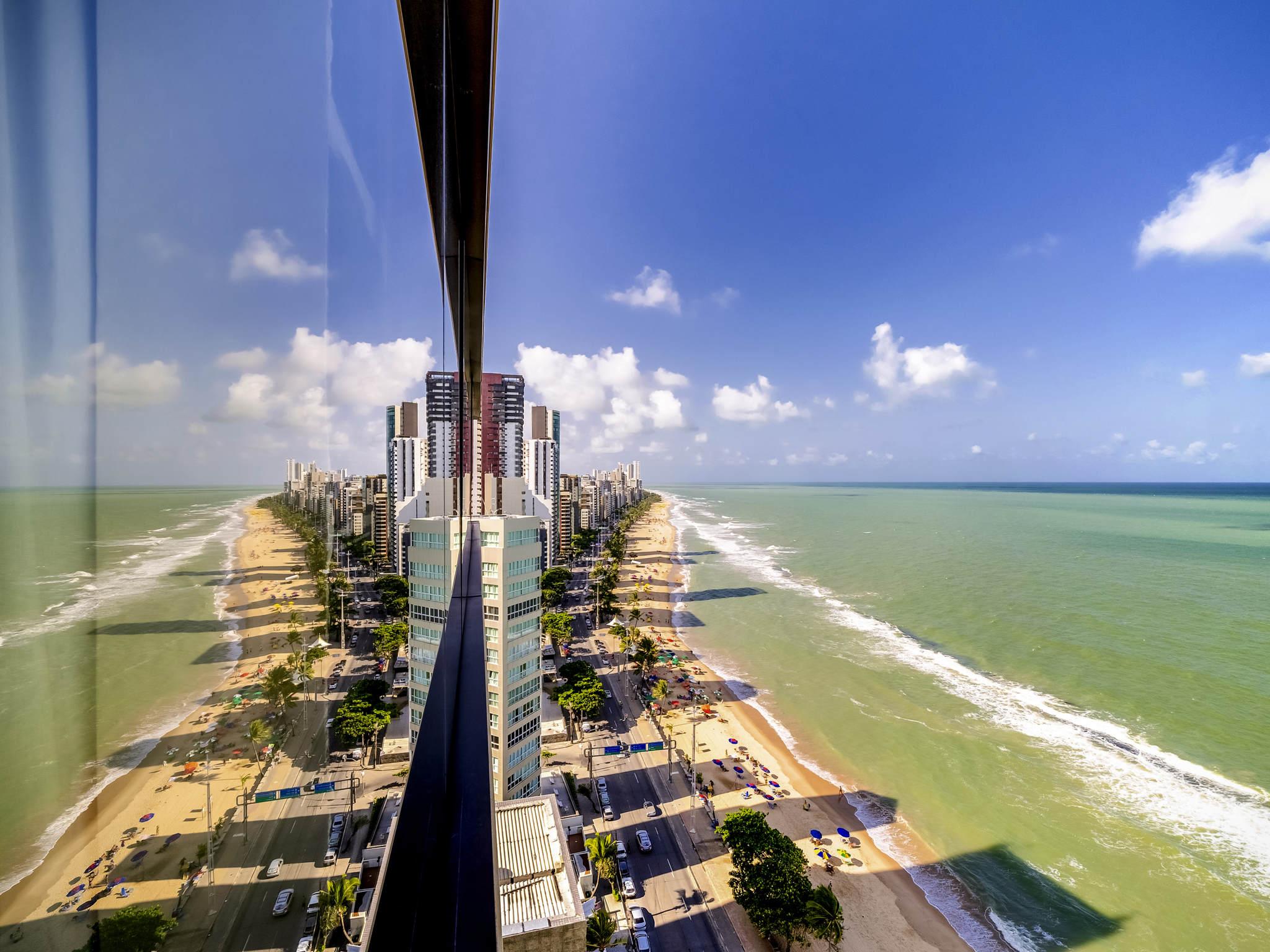 Hotel – Grand Mercure Recife Boa Viagem (antigo BHG Recife Palace)